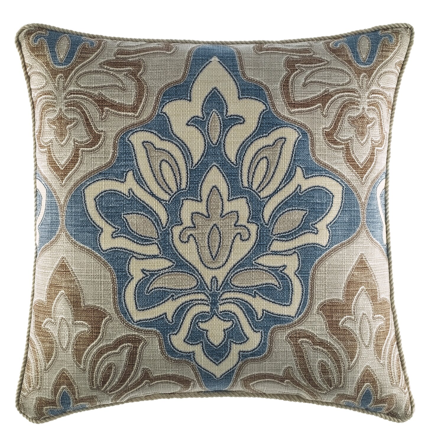 Wayfair Blue Decorative Pillows : Croscill Captain s Quarters Throw Pillow & Reviews Wayfair
