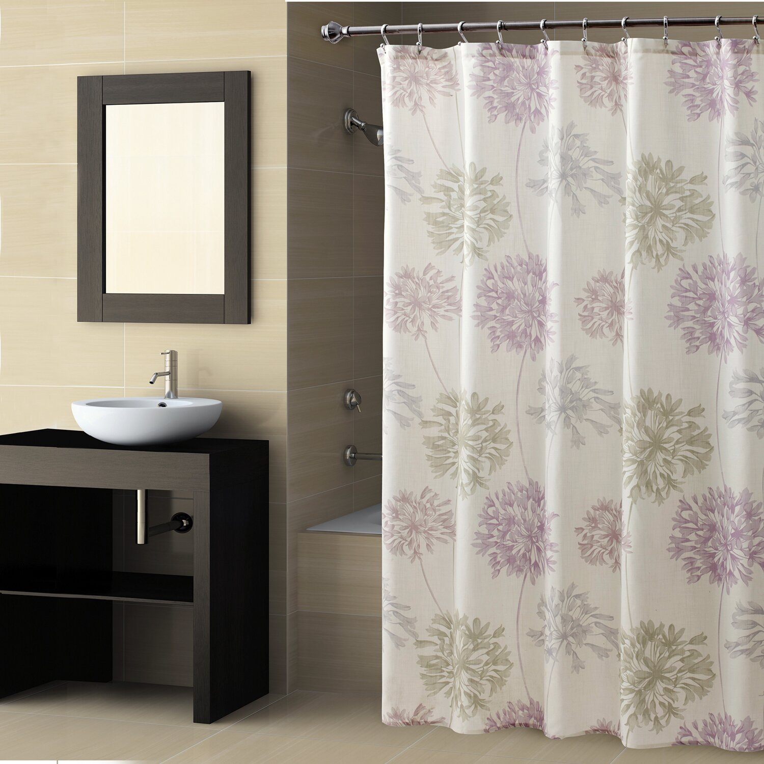 croscill dandelion shower curtain reviews