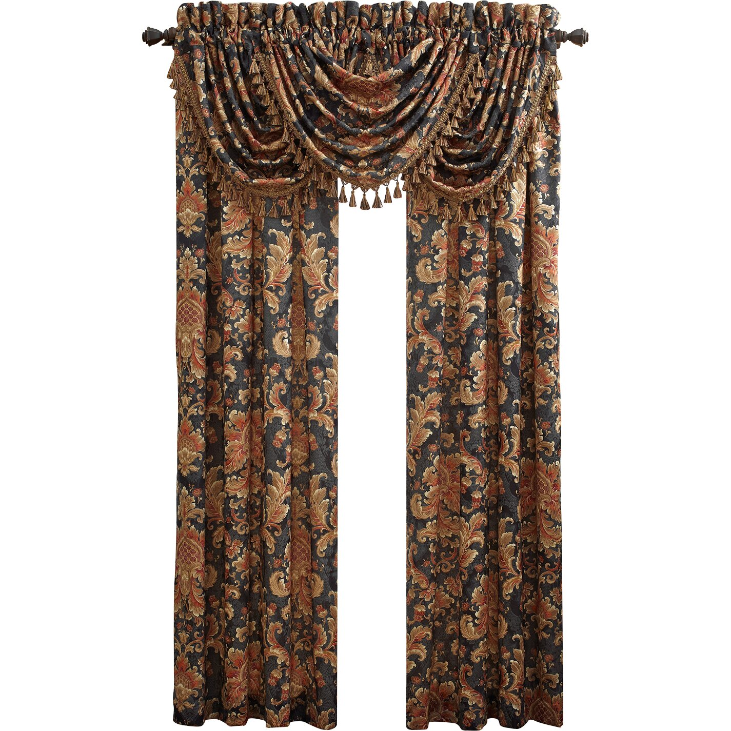 Croscill Serafina Waterfall Swag 48 Quot Curtain Valance