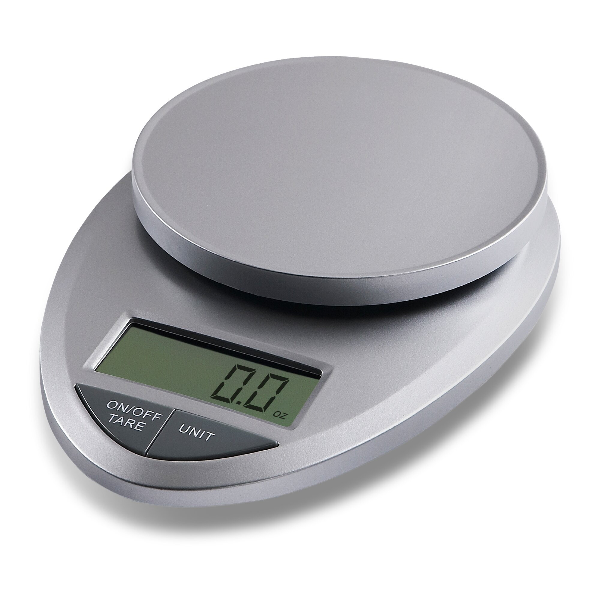 EatSmart Precision Pro Digital Kitchen Scale In Silver