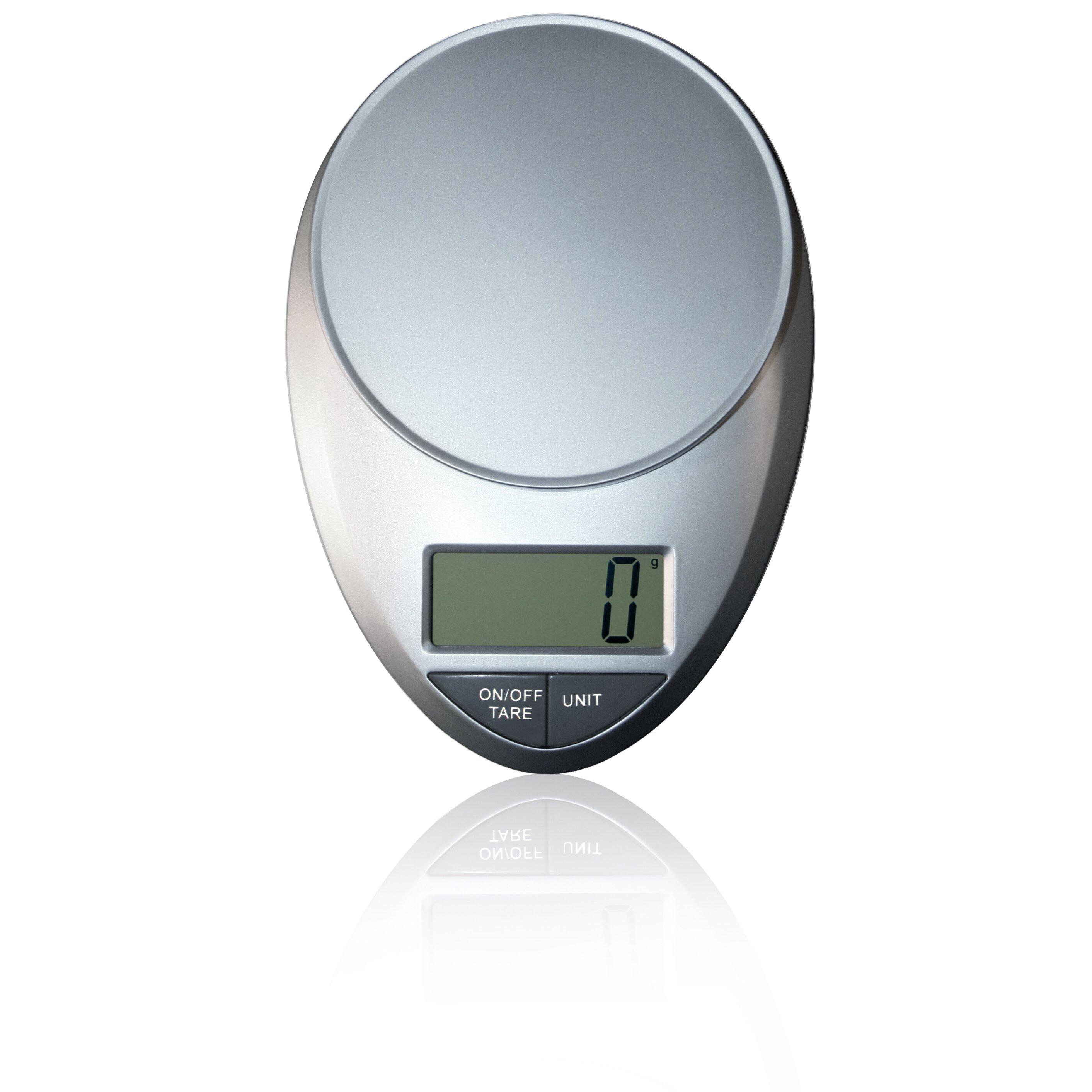 Eatsmart Precision Pro Digital Kitchen Scale In Silver Reviews Wayfair