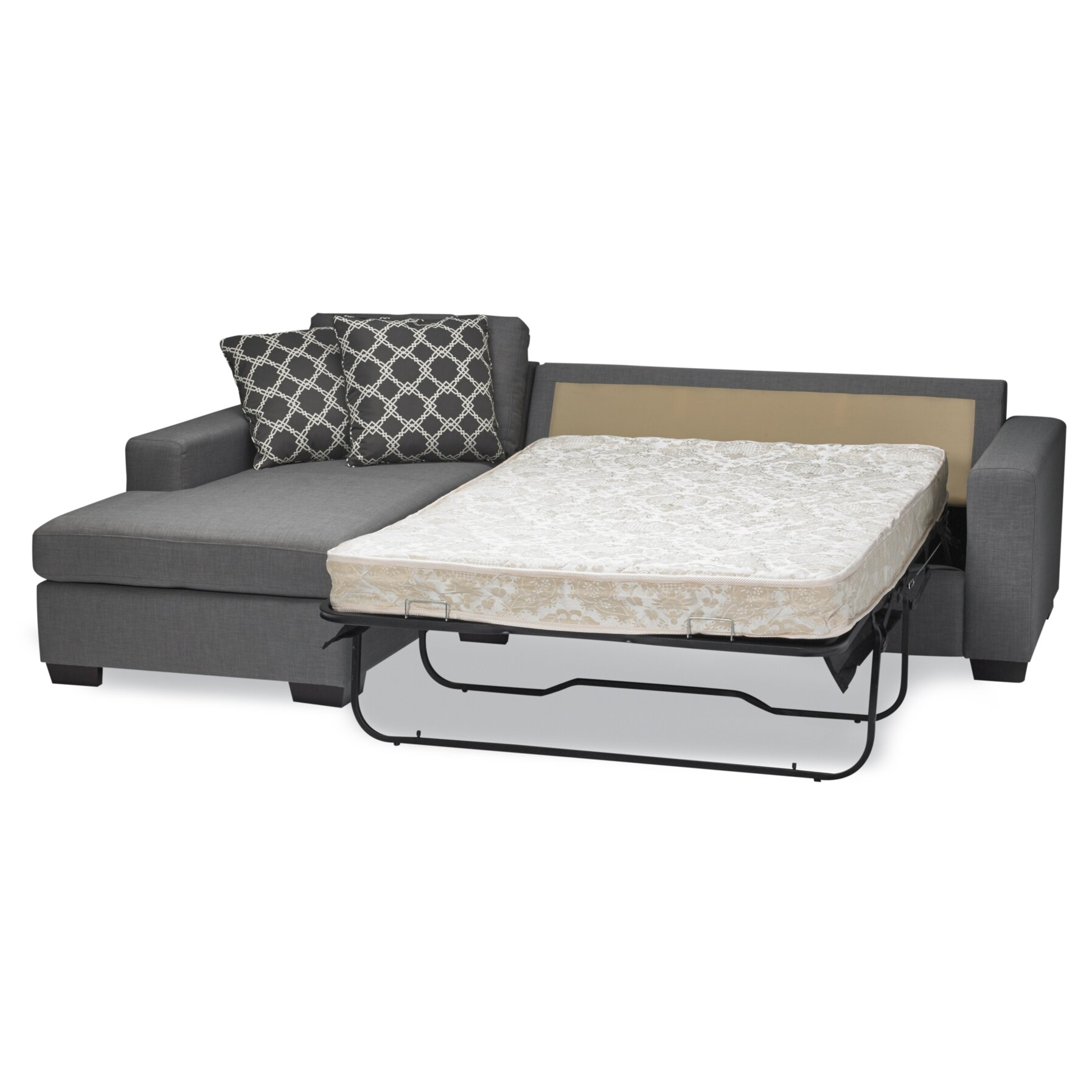 Sofas to go mimi sleeper sectional reviews wayfair for Sectional sleeper sofa