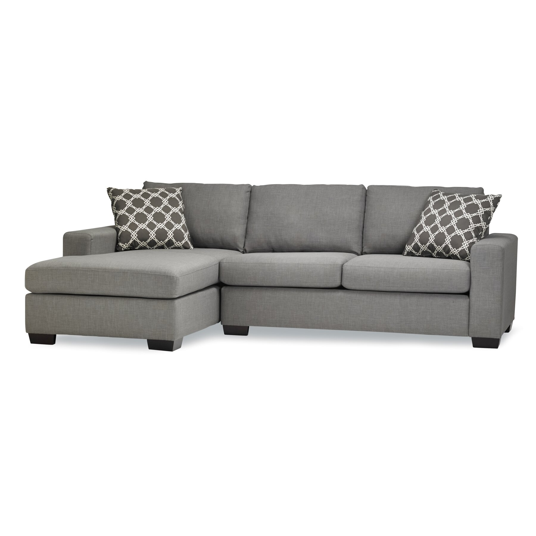 Sectional Sleeper Sofa : Sofas to go mimi sleeper sectional reviews wayfair