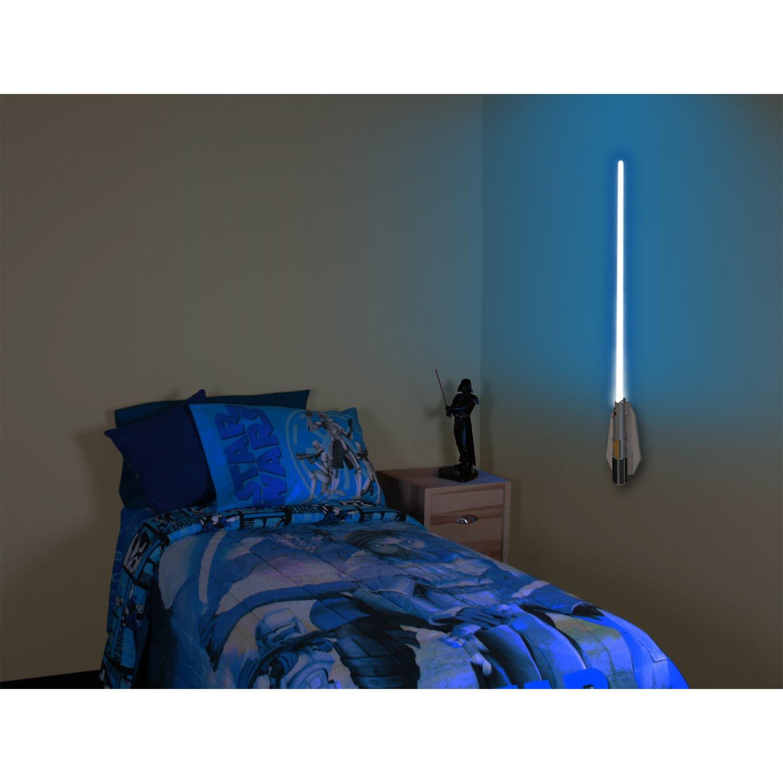 3d Wall Light Decor : Uncle Milton Deluxe 8 Color Lightsaber Room Light 3D Wall Decor & Reviews Wayfair