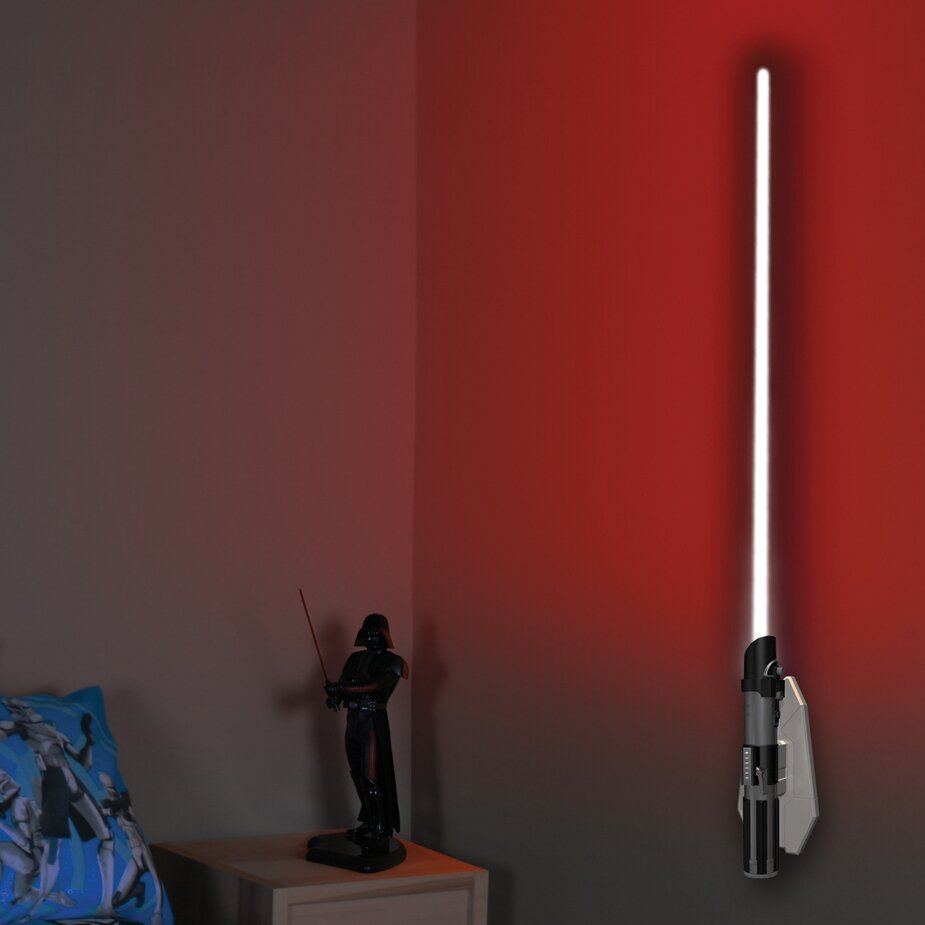 Wall Mounted Lightsaber Lamp : Uncle Milton Lightsaber Room Light Darth Vader 3D Wall Decor & Reviews Wayfair