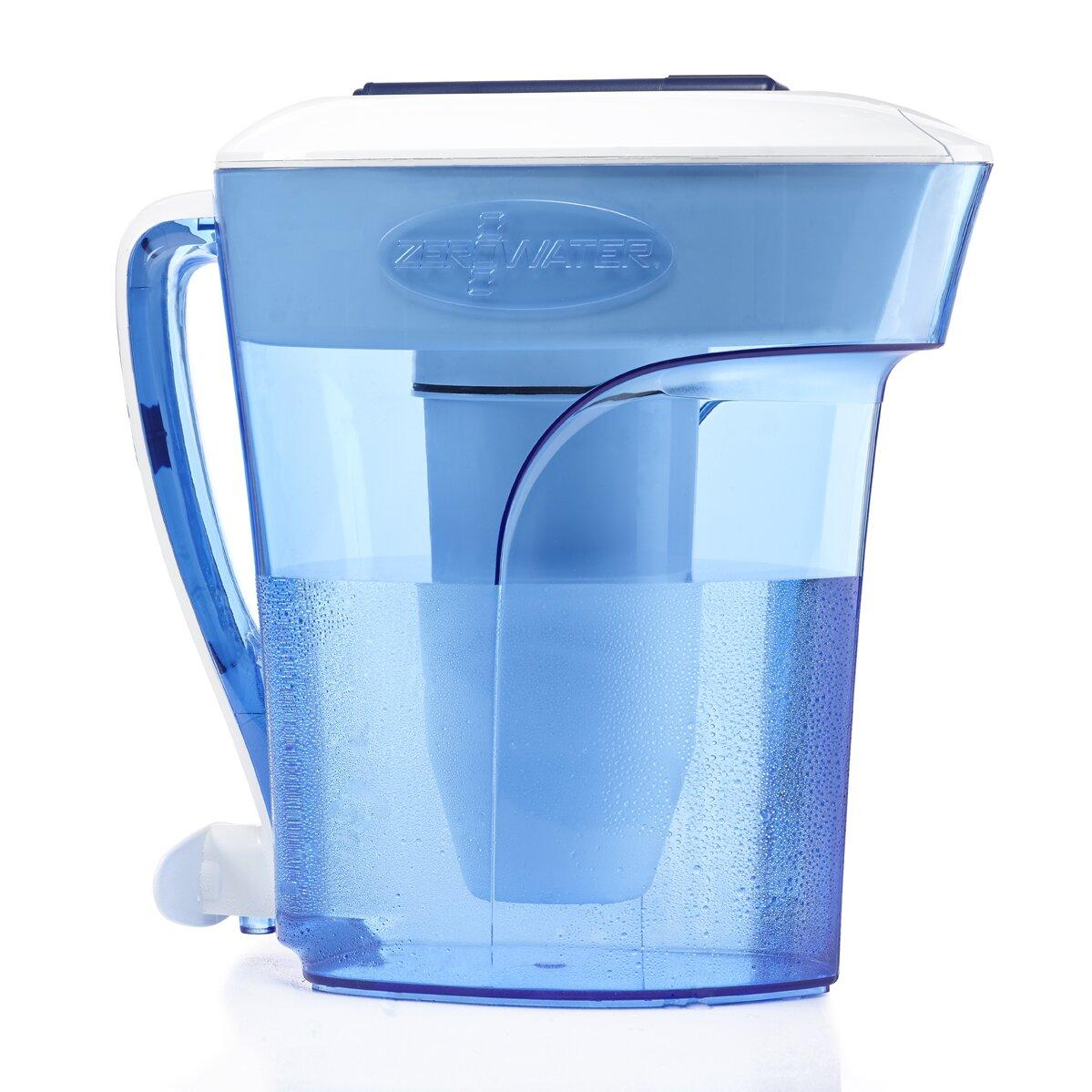 Zerowater Water Filter Pitcher Amp Reviews Wayfair