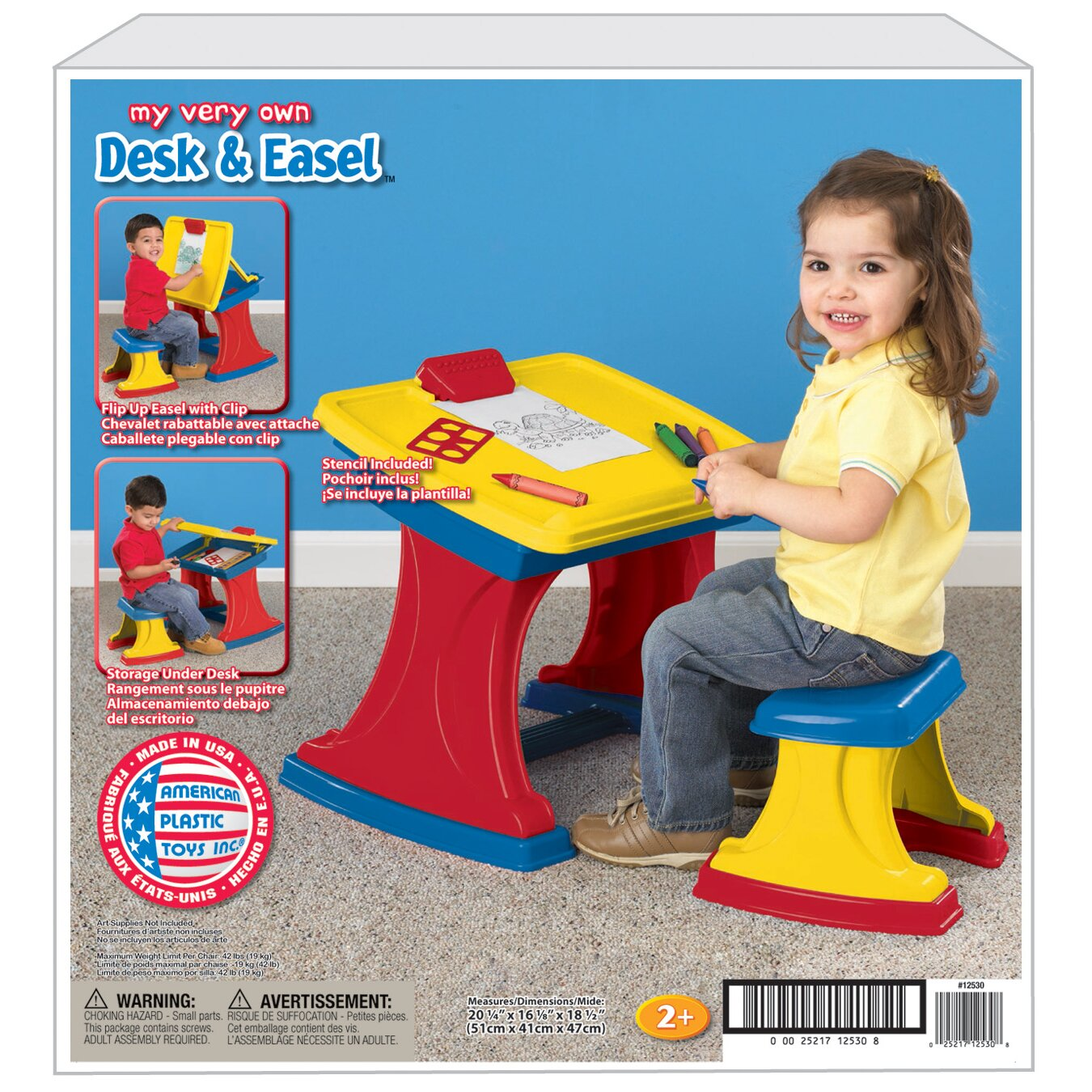 My Very Own Do It Yourself Decoupage Flooring In 2019: American Plastic Toys My Very Own Desk And Easel & Reviews
