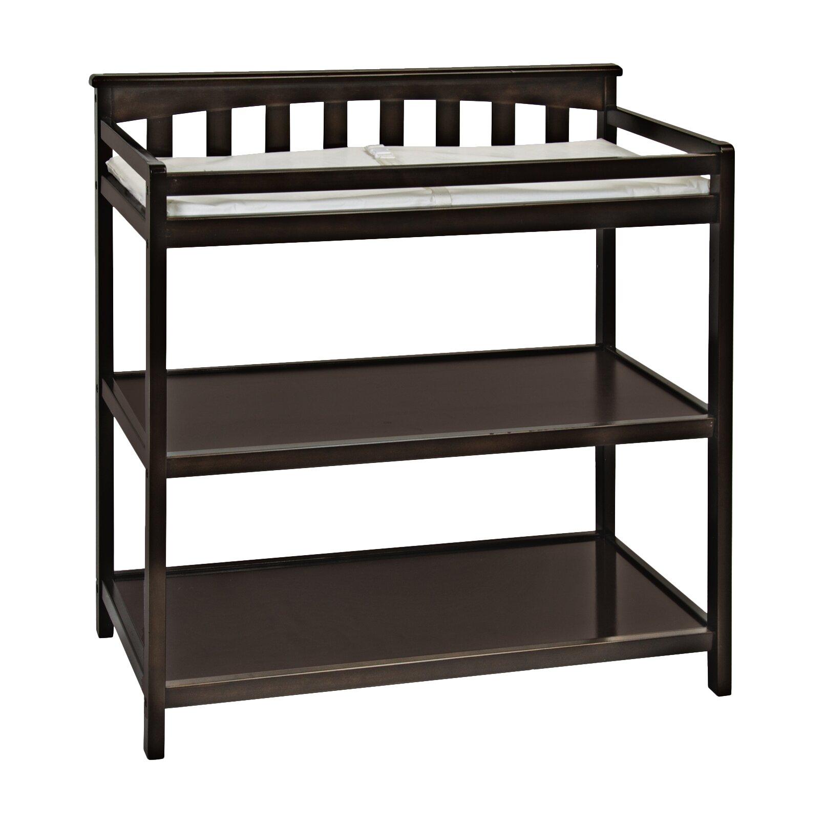 child craft london flat top changing table reviews wayfair. Black Bedroom Furniture Sets. Home Design Ideas