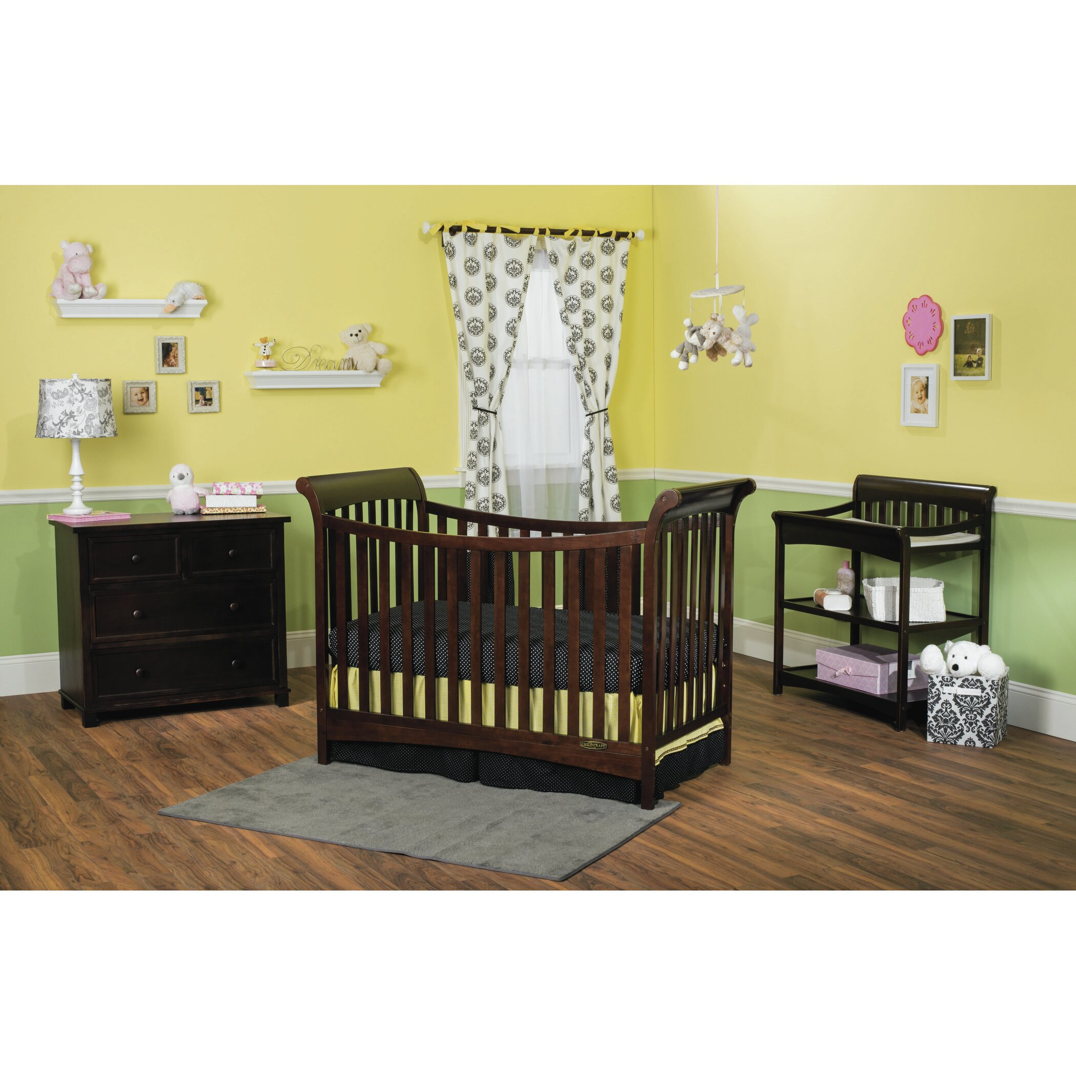 child craft ashton changing table reviews wayfair. Black Bedroom Furniture Sets. Home Design Ideas