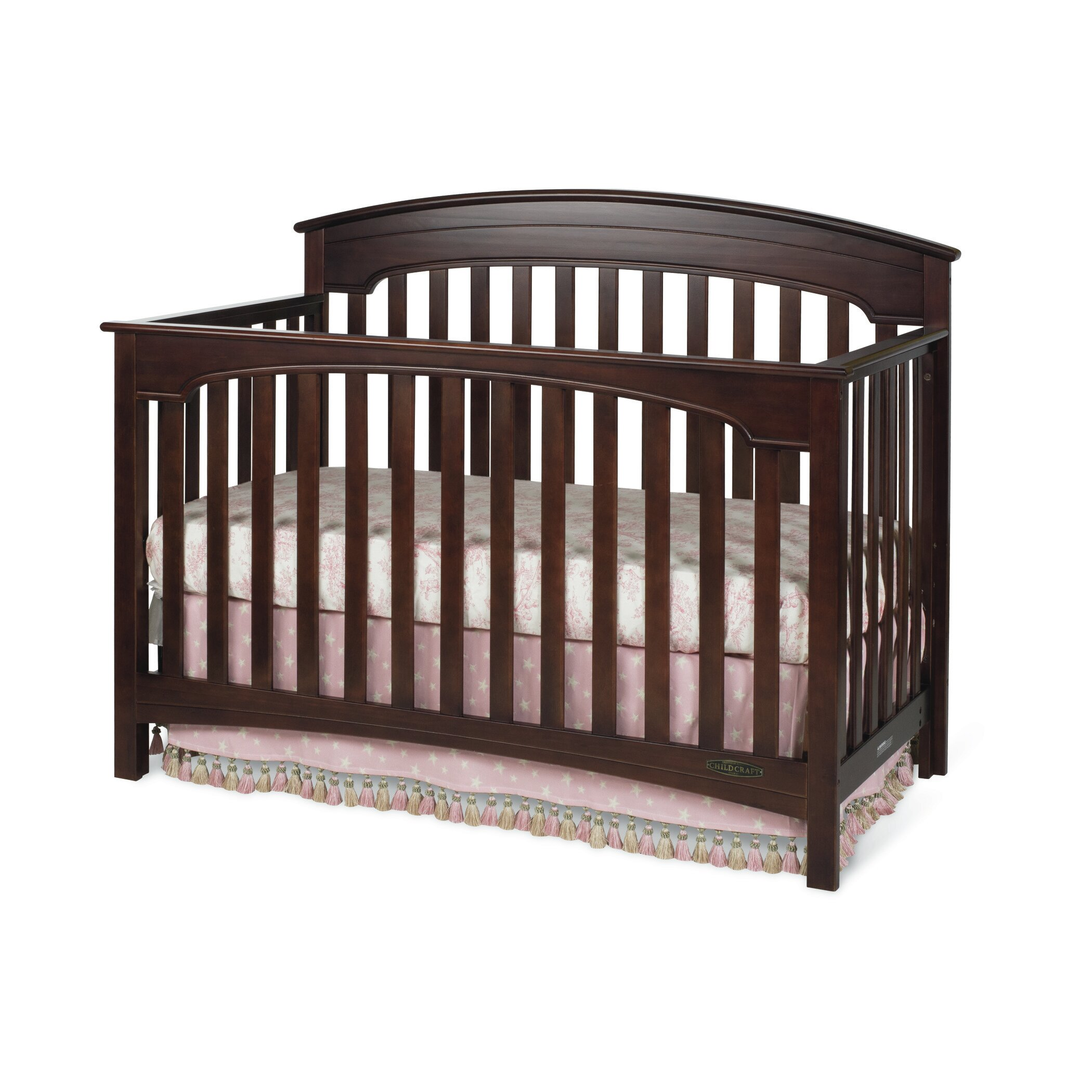 Child craft stanford 4 in 1 convertible 2 piece crib set for Child craft crib reviews