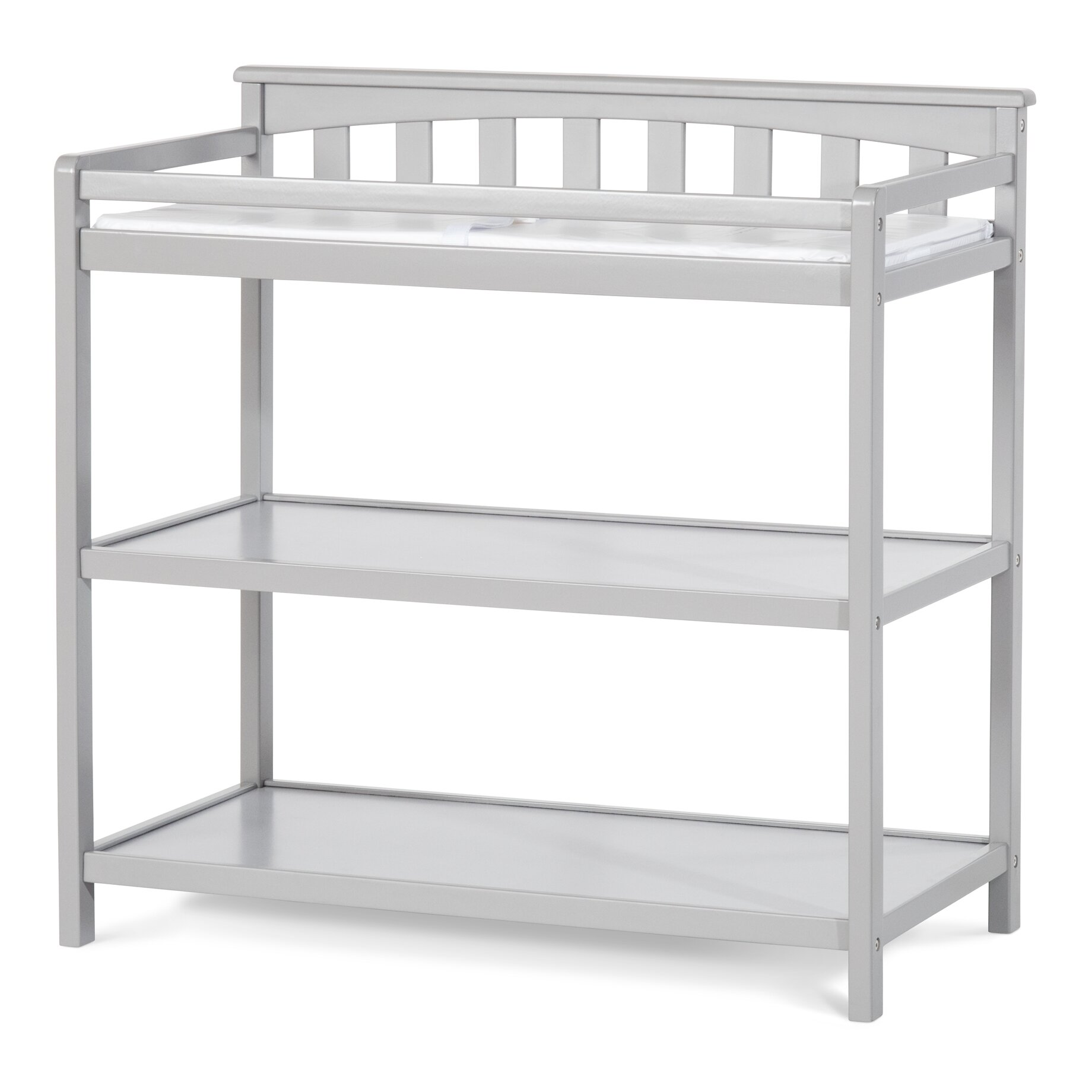 child craft flat top changing table reviews wayfair supply. Black Bedroom Furniture Sets. Home Design Ideas