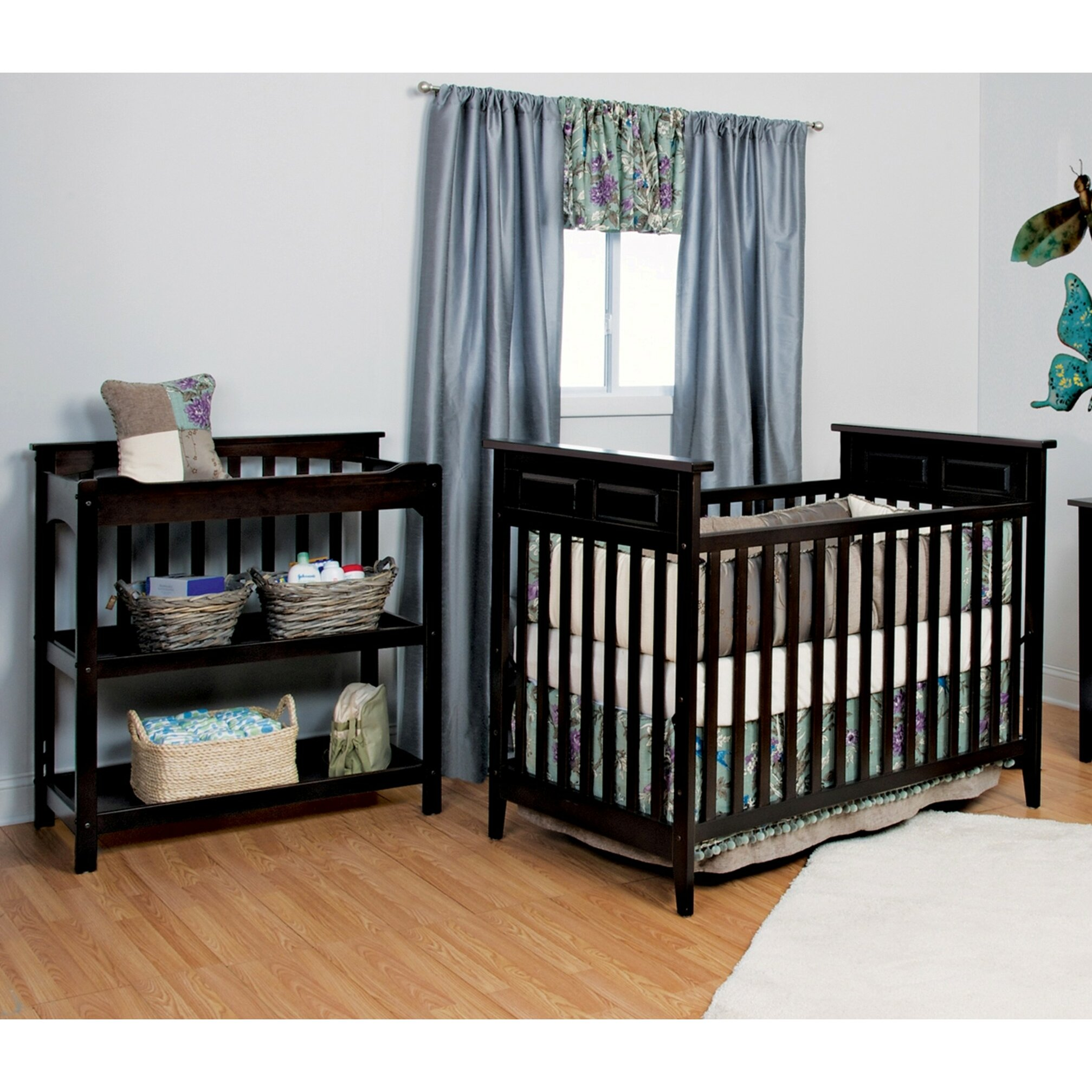 Child craft logan 2 piece crib set reviews wayfair for Child craft crib reviews