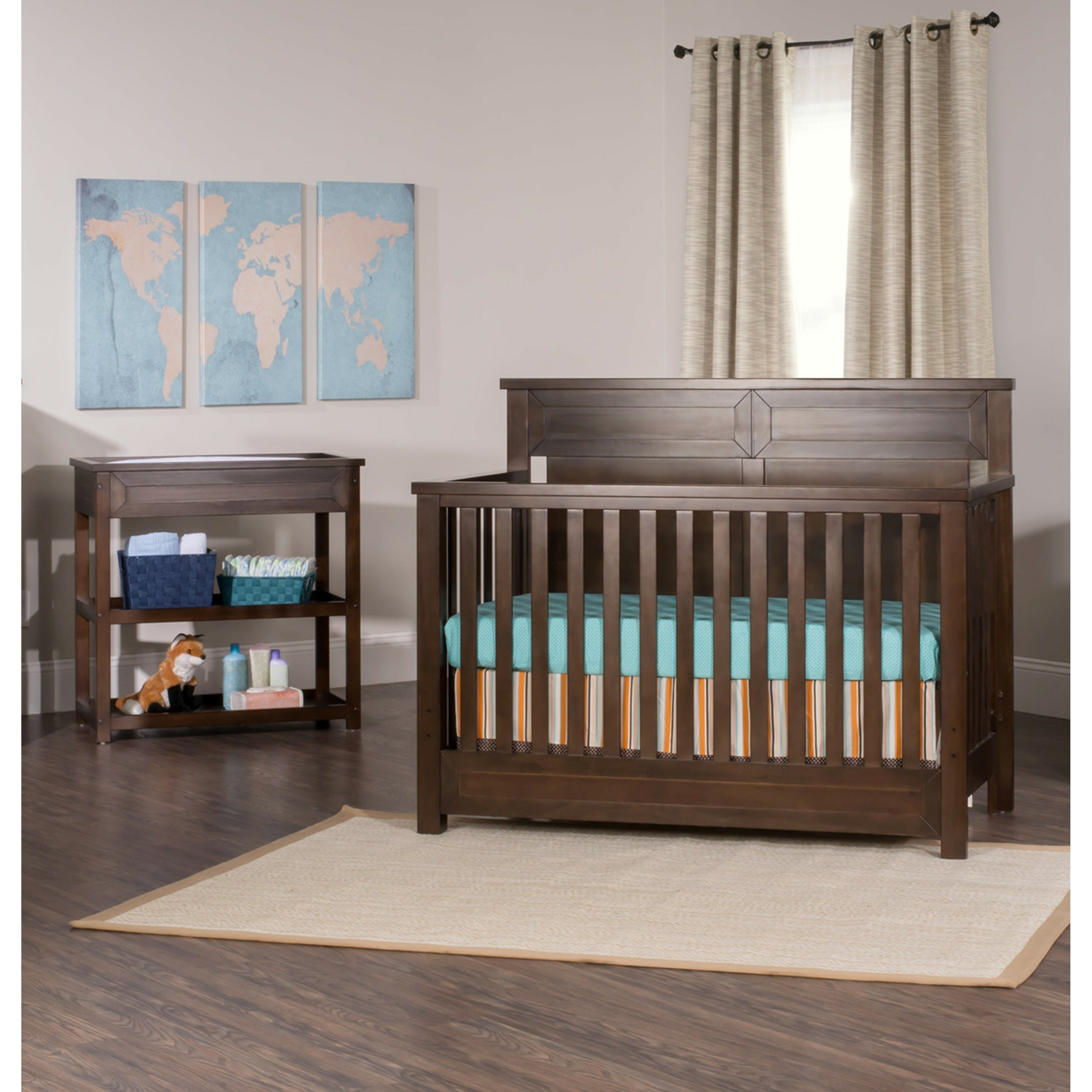 child craft convertible crib child craft camden 4 in 1. Black Bedroom Furniture Sets. Home Design Ideas