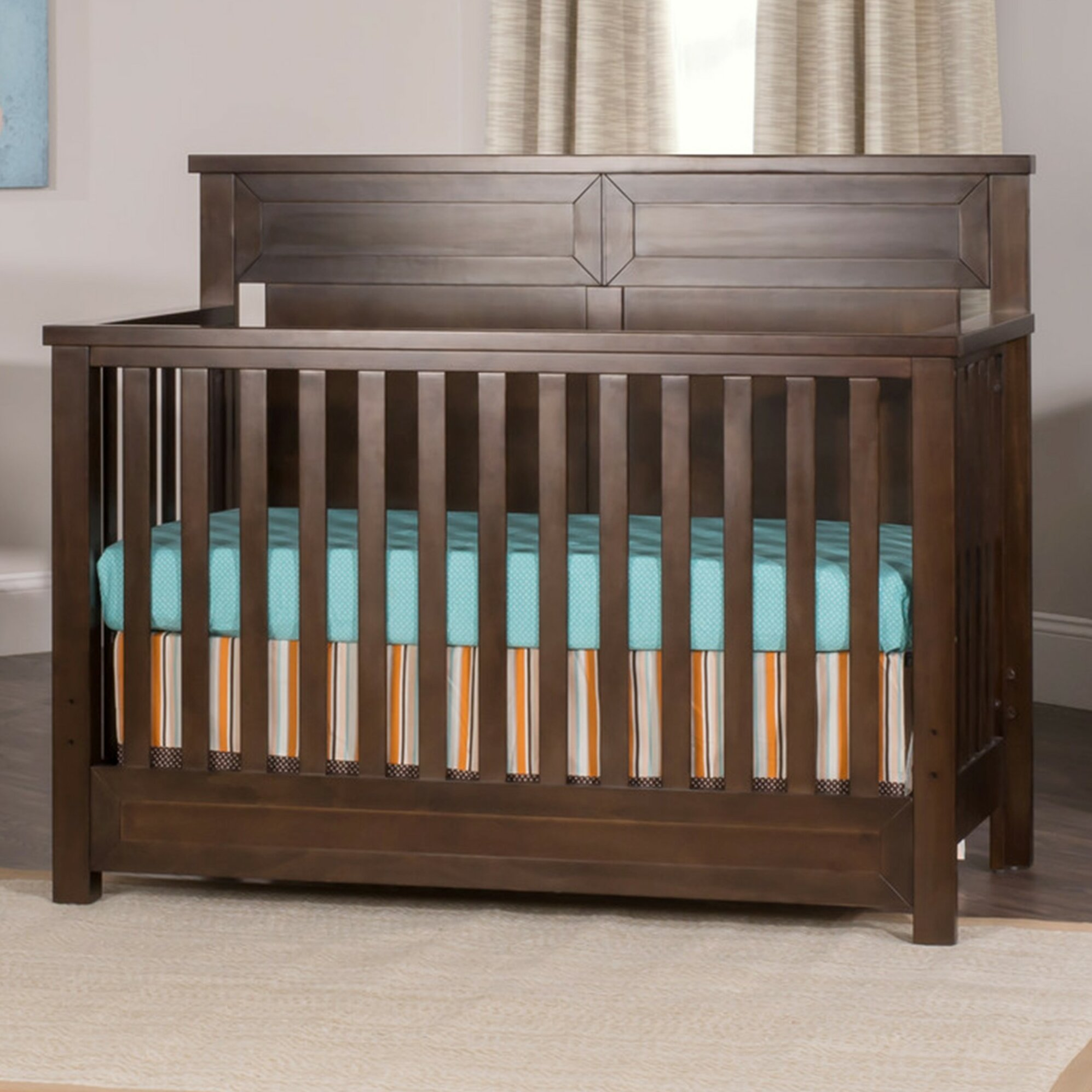 Child craft abbott 4 in 1 lifetime convertible crib for Child craft crib reviews