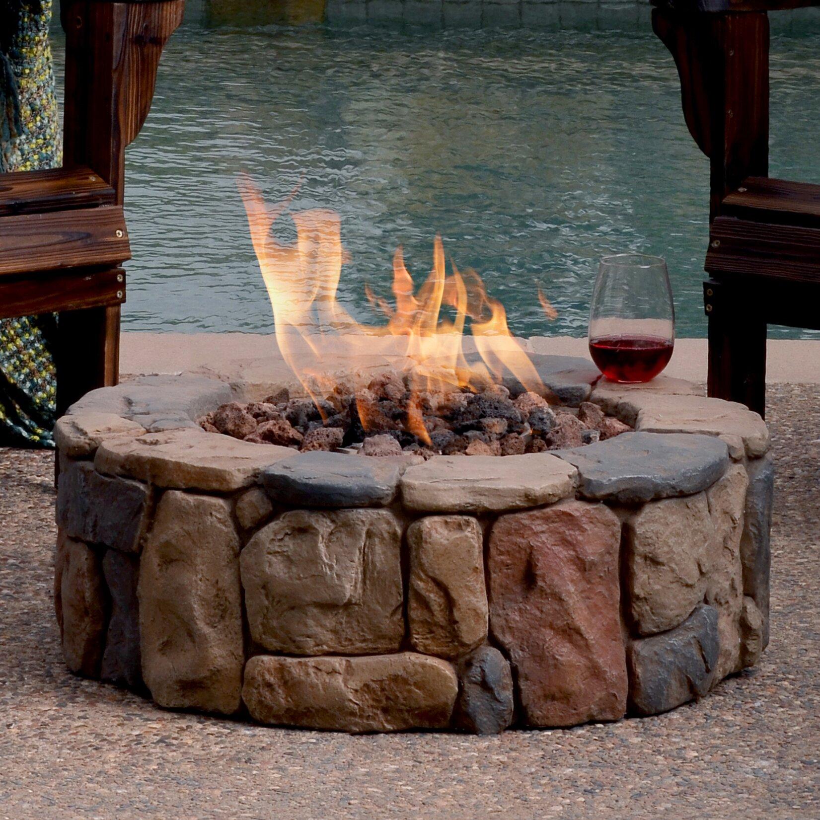 bond petra metal gas fire pit reviews wayfair. Black Bedroom Furniture Sets. Home Design Ideas