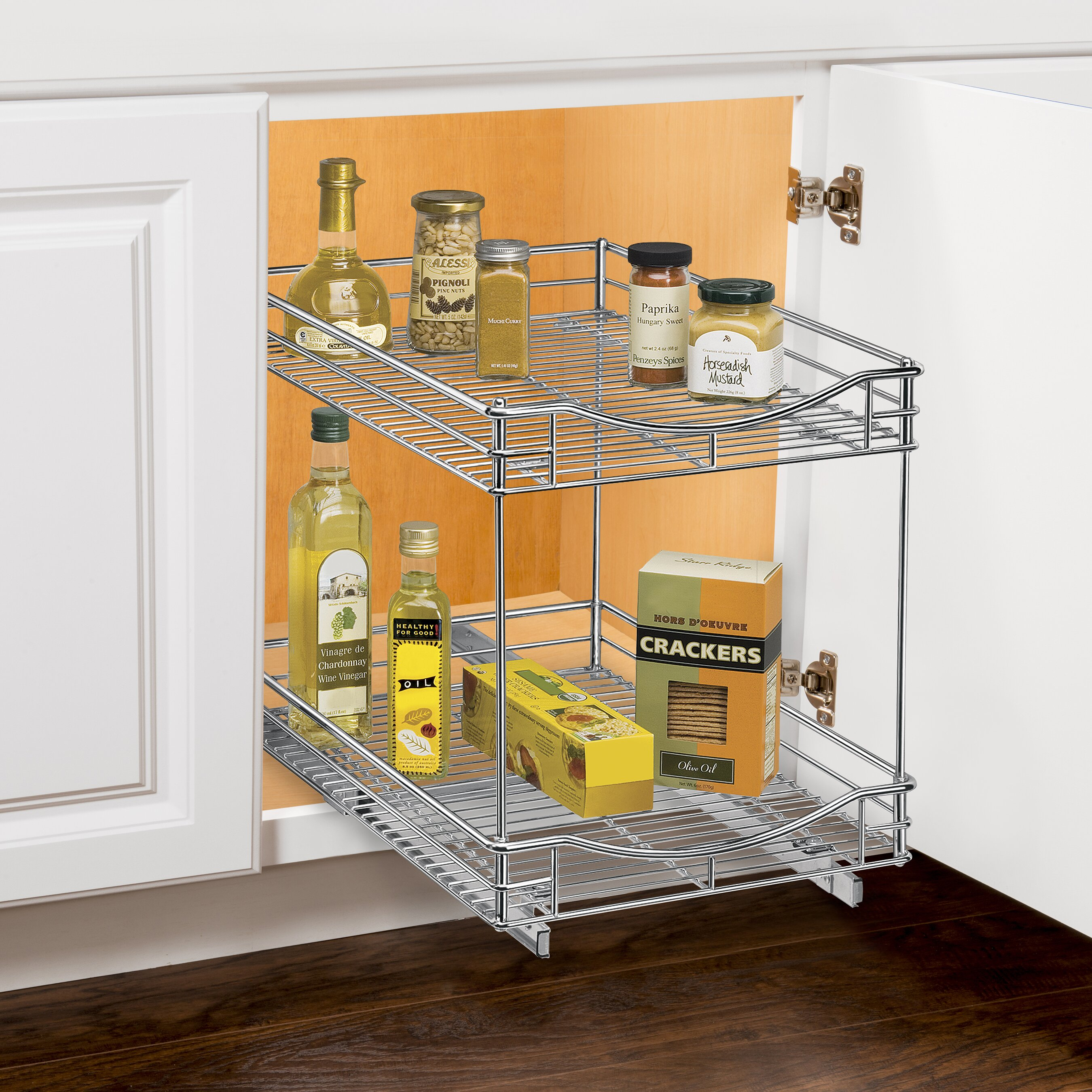 Lynk Roll Out Double Drawer