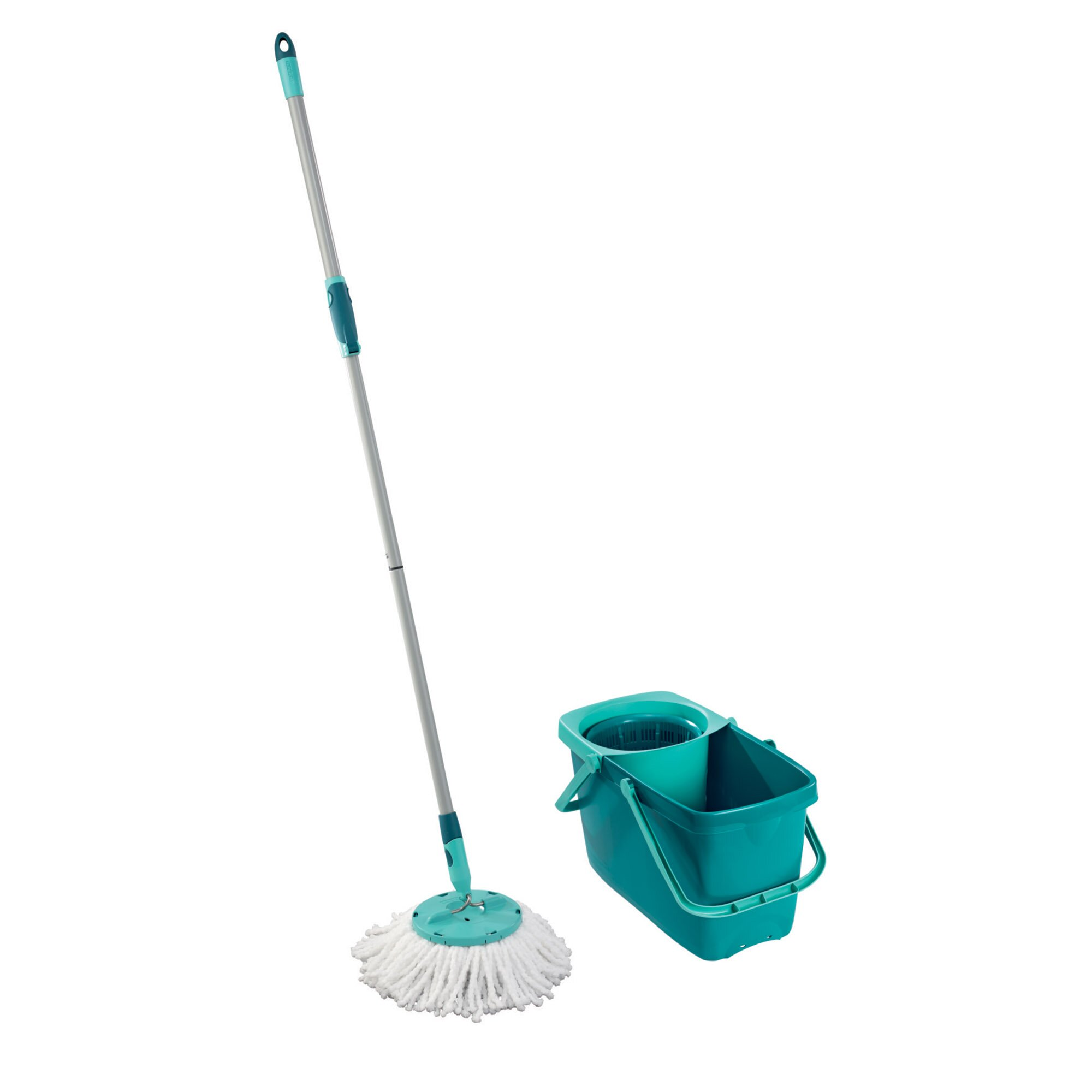 LEIFHEIT Clean Twist Mop Set with Mop and Spin Bucket ...