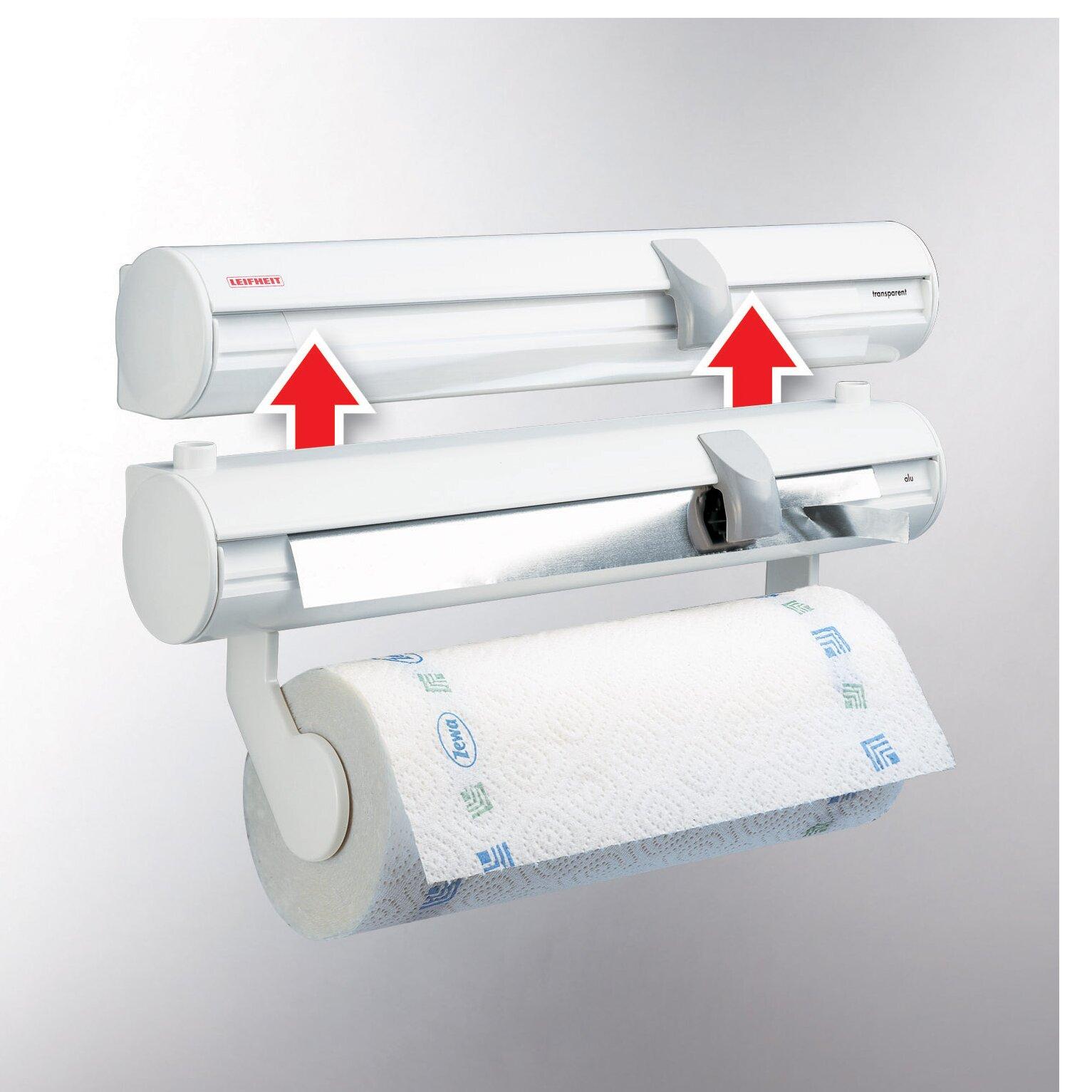 leifheit wall mount paper towel holder reviews wayfair