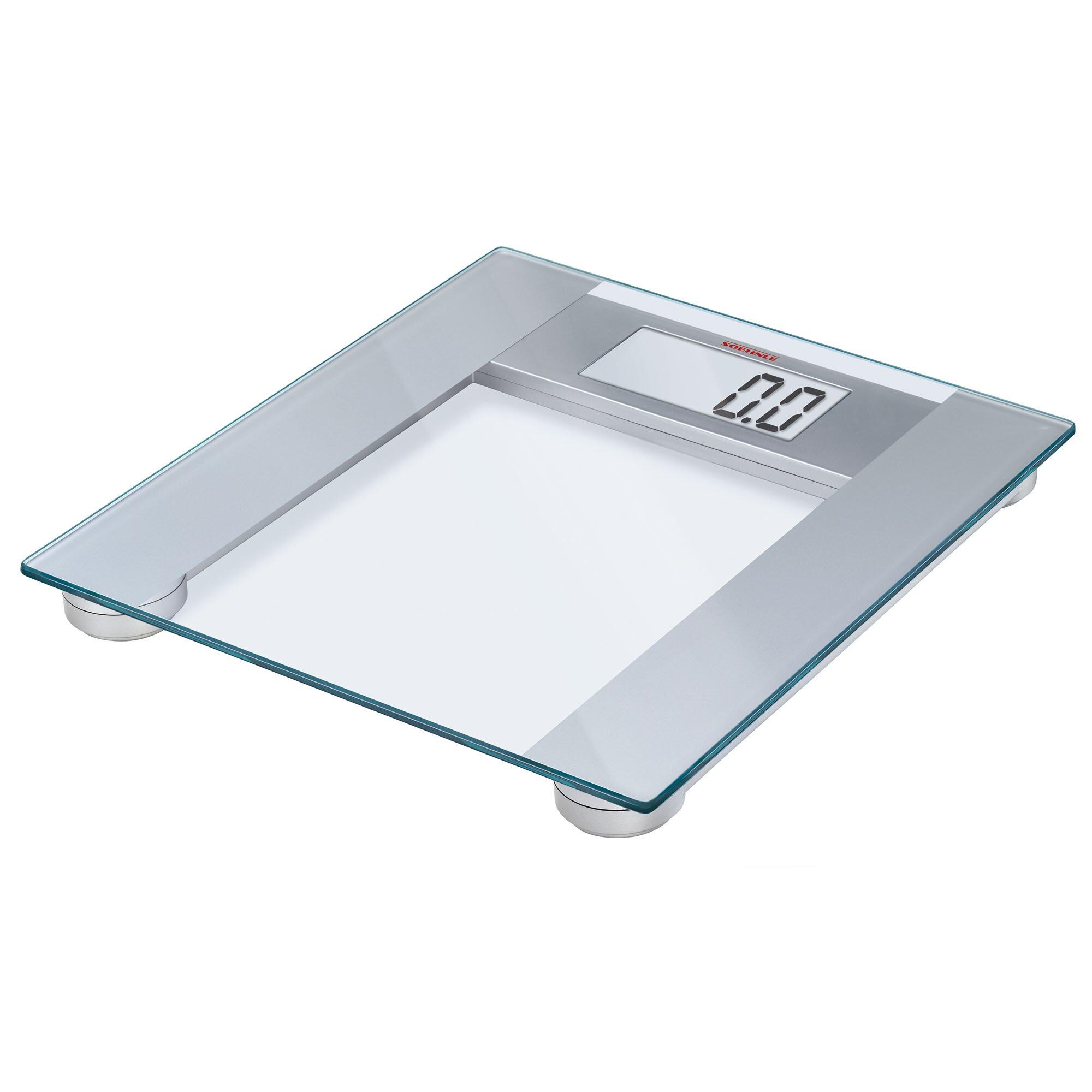 Digital Bathroom Scales For Sale: Soehnle Pharo 200 Precision Digital Bathroom Scale