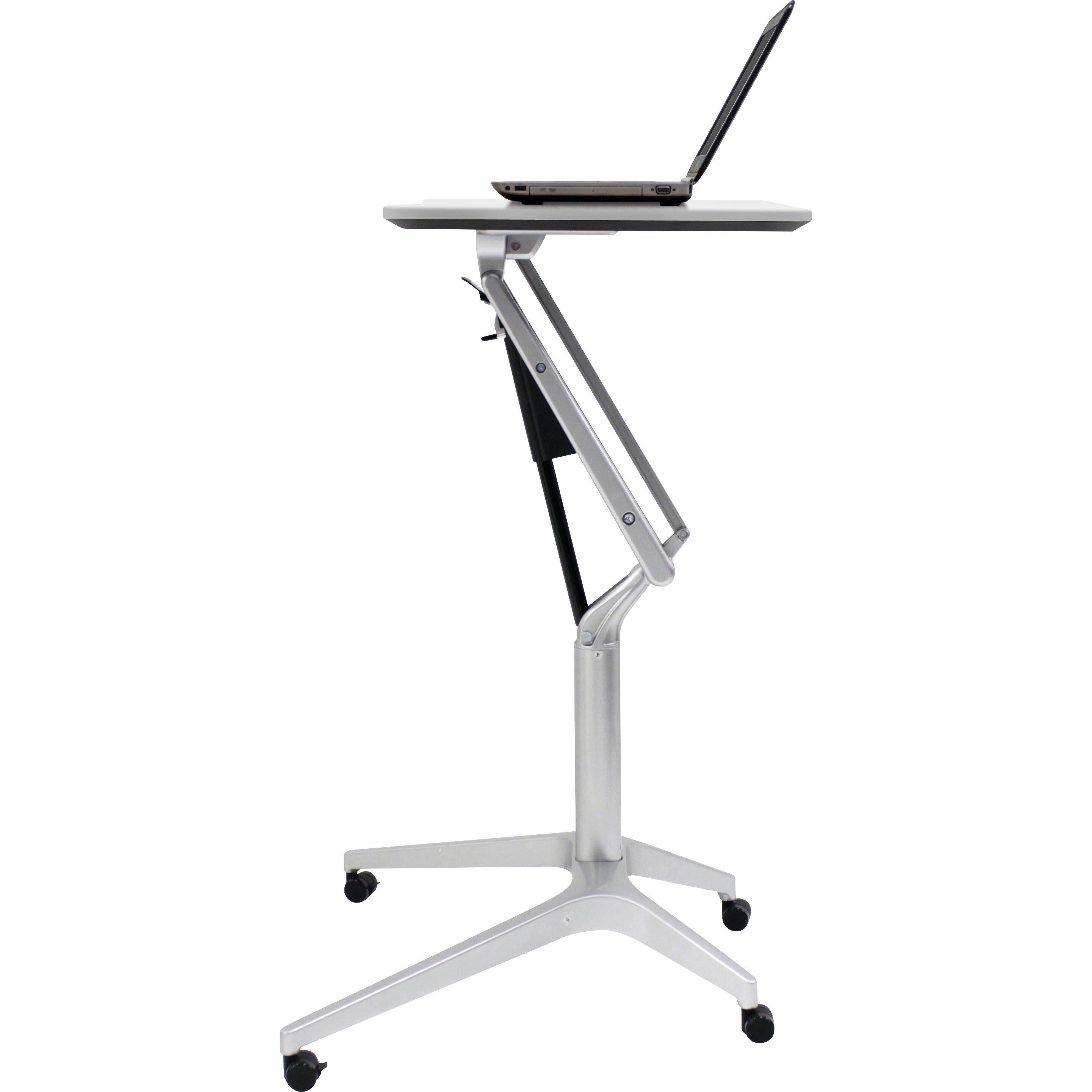 Unique Furniture Adjustable Laptop Cart Amp Reviews Wayfair