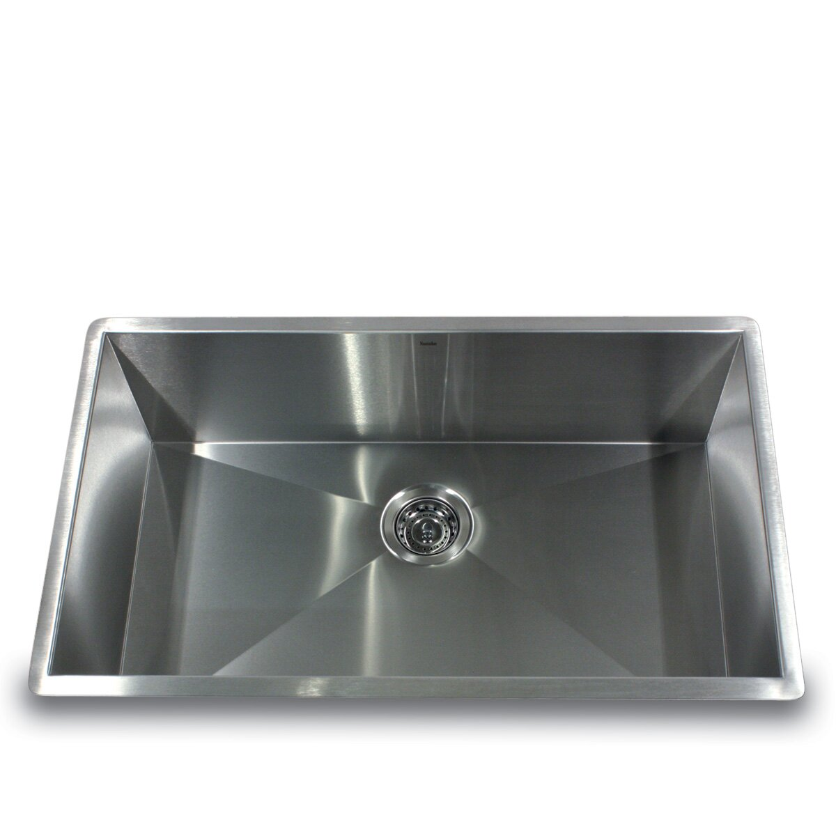 kitchen single bowl sinks nantucket sinks 32 quot x 19 quot zero radius single bowl 5610