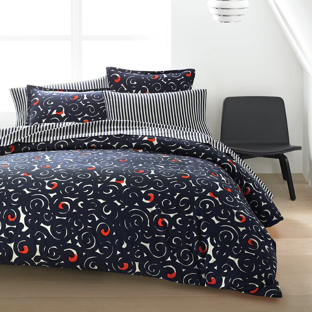 Marimekko Sonaatti Reversible Duvet Cover Set Amp Reviews
