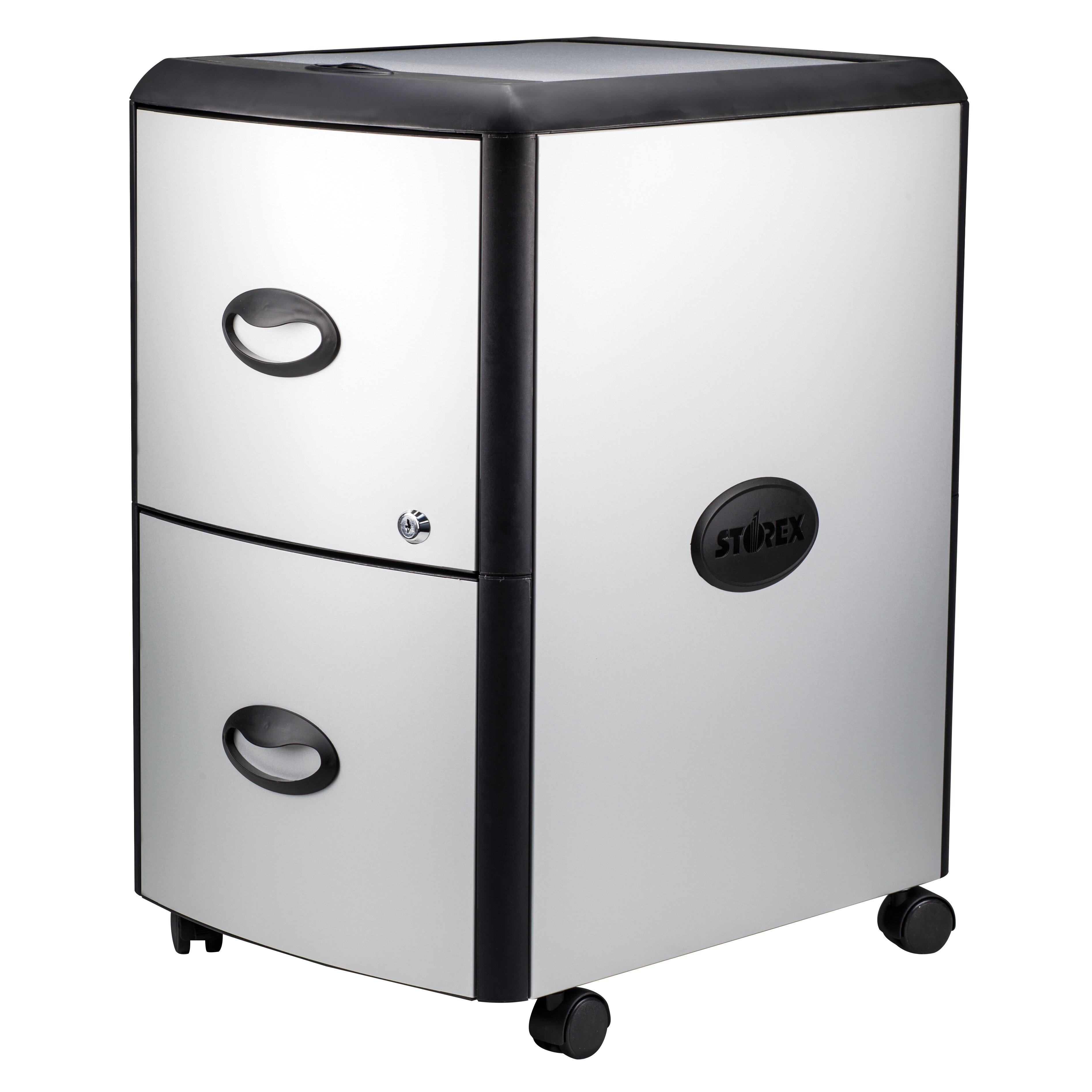 storex 2 drawer storage chest reviews wayfair. Black Bedroom Furniture Sets. Home Design Ideas