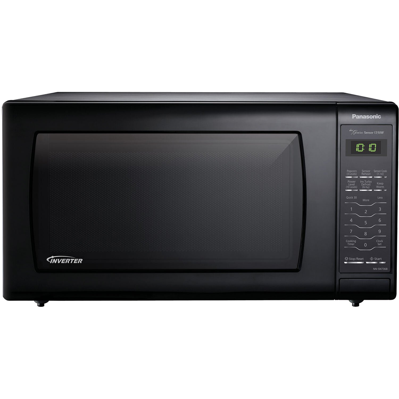 Panasonic 1 6 Cu Ft 1250w Countertop Microwave With