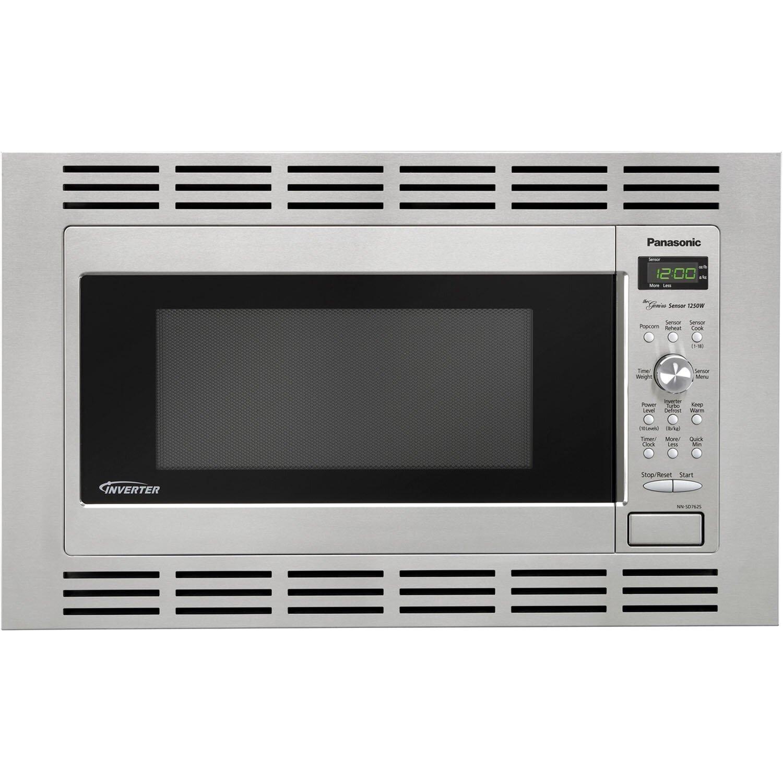Panasonic 1 2 Cu Ft Microwave 27 Quot Stainless Steel Trim