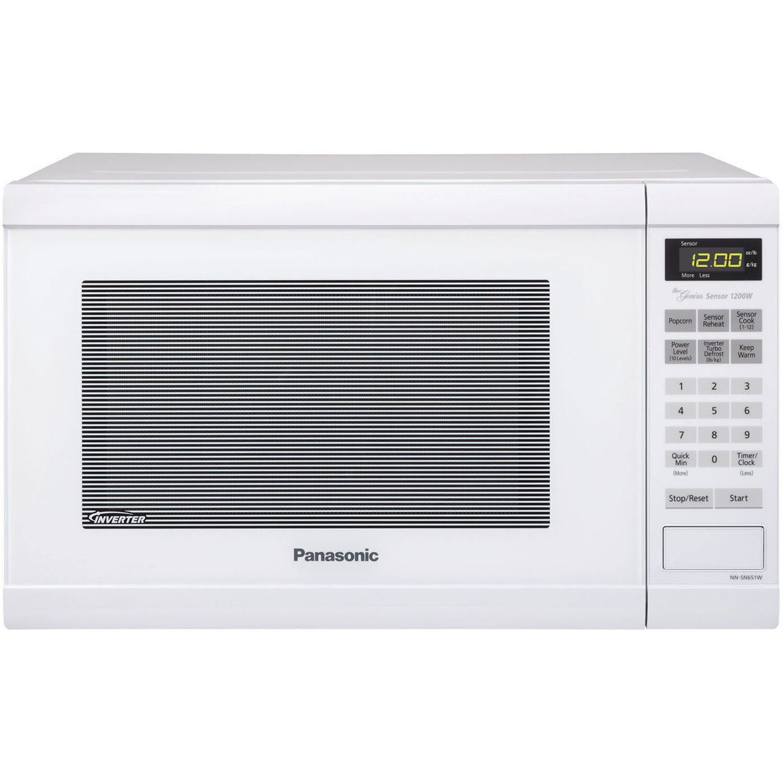 Panasonic 1 2 Cu Ft 1200w Countertop Microwave Amp Reviews
