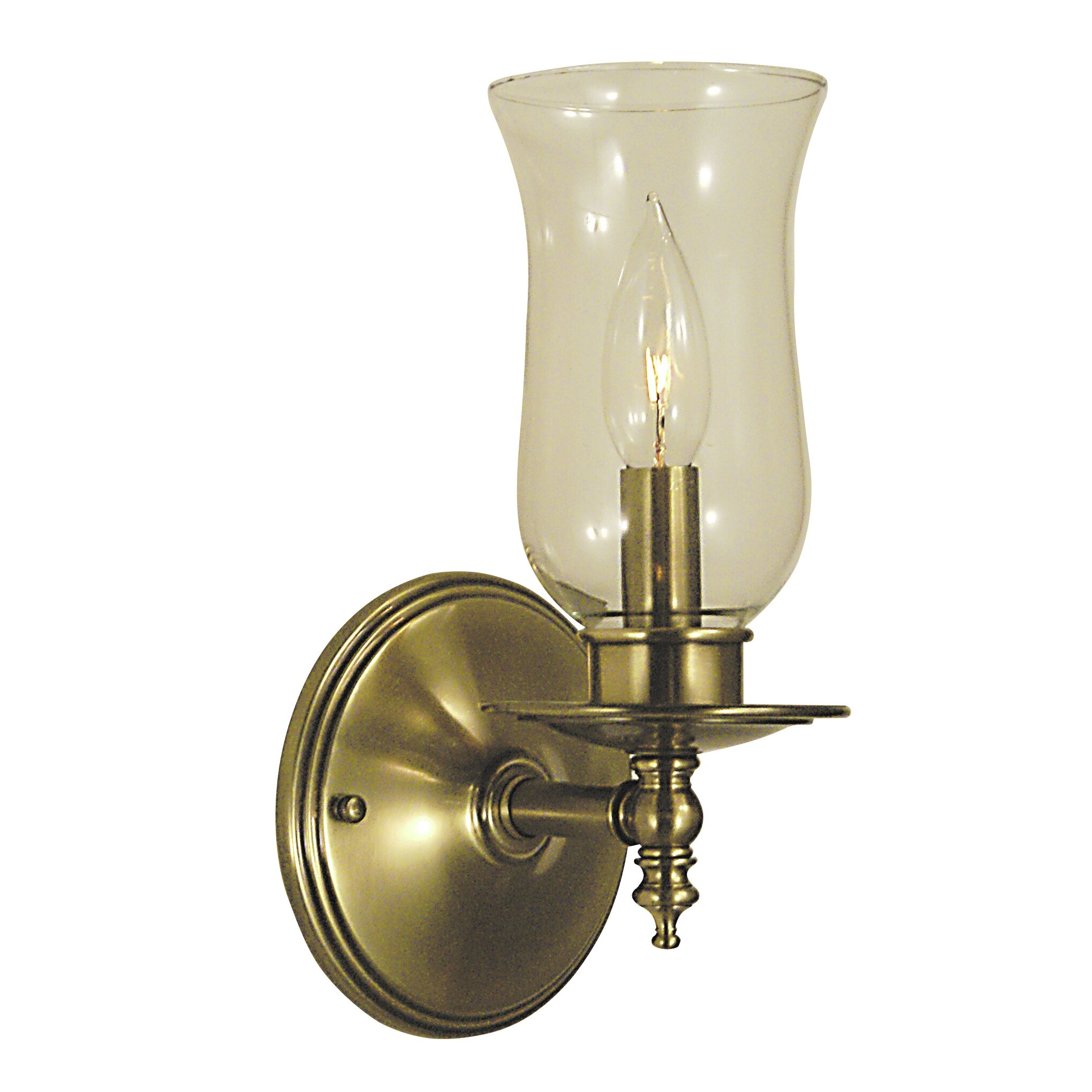Wall Sconce With Magnifying Glass : Framburg Sheraton 1 Light Wall Sconce Wayfair