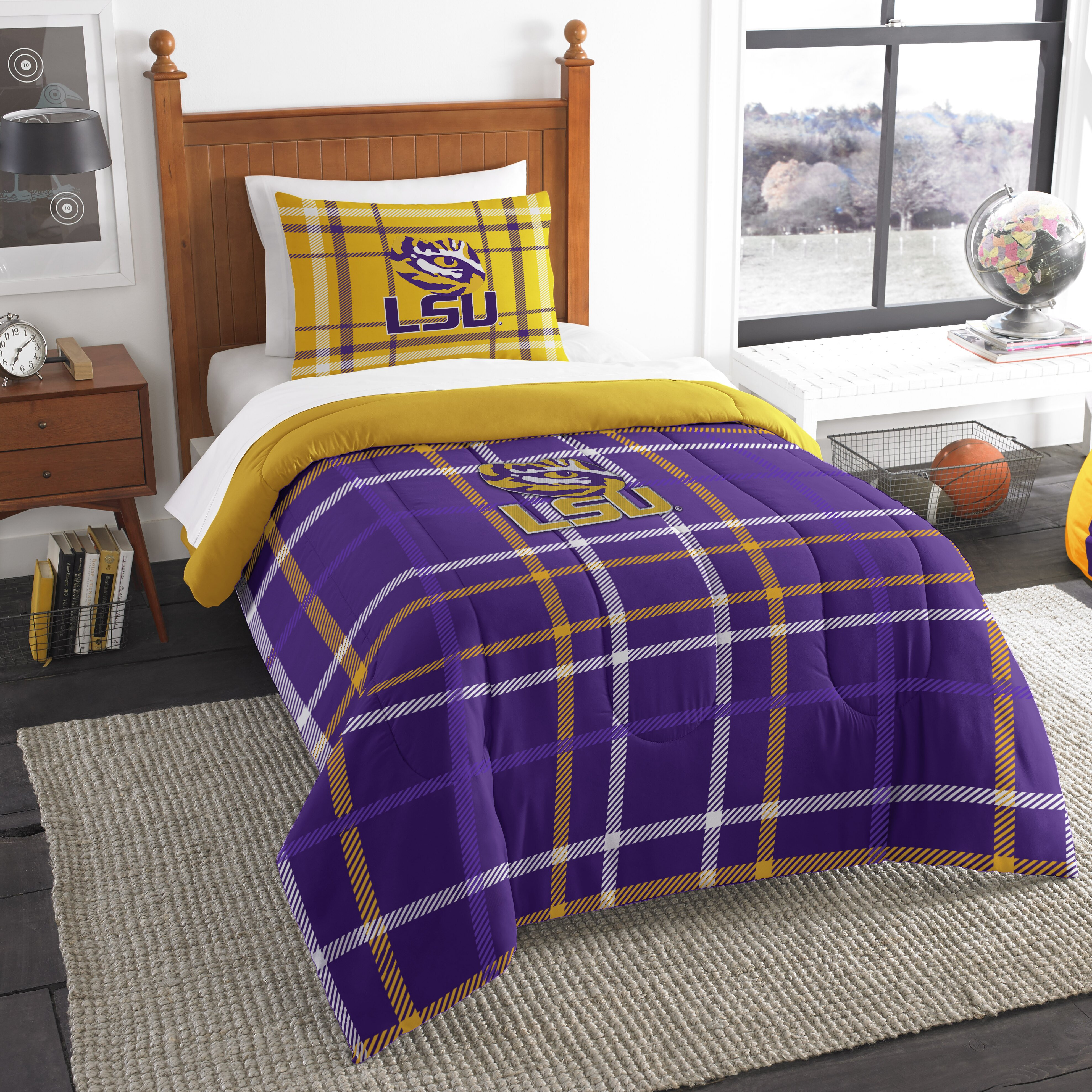 Lsu Bed Sheets
