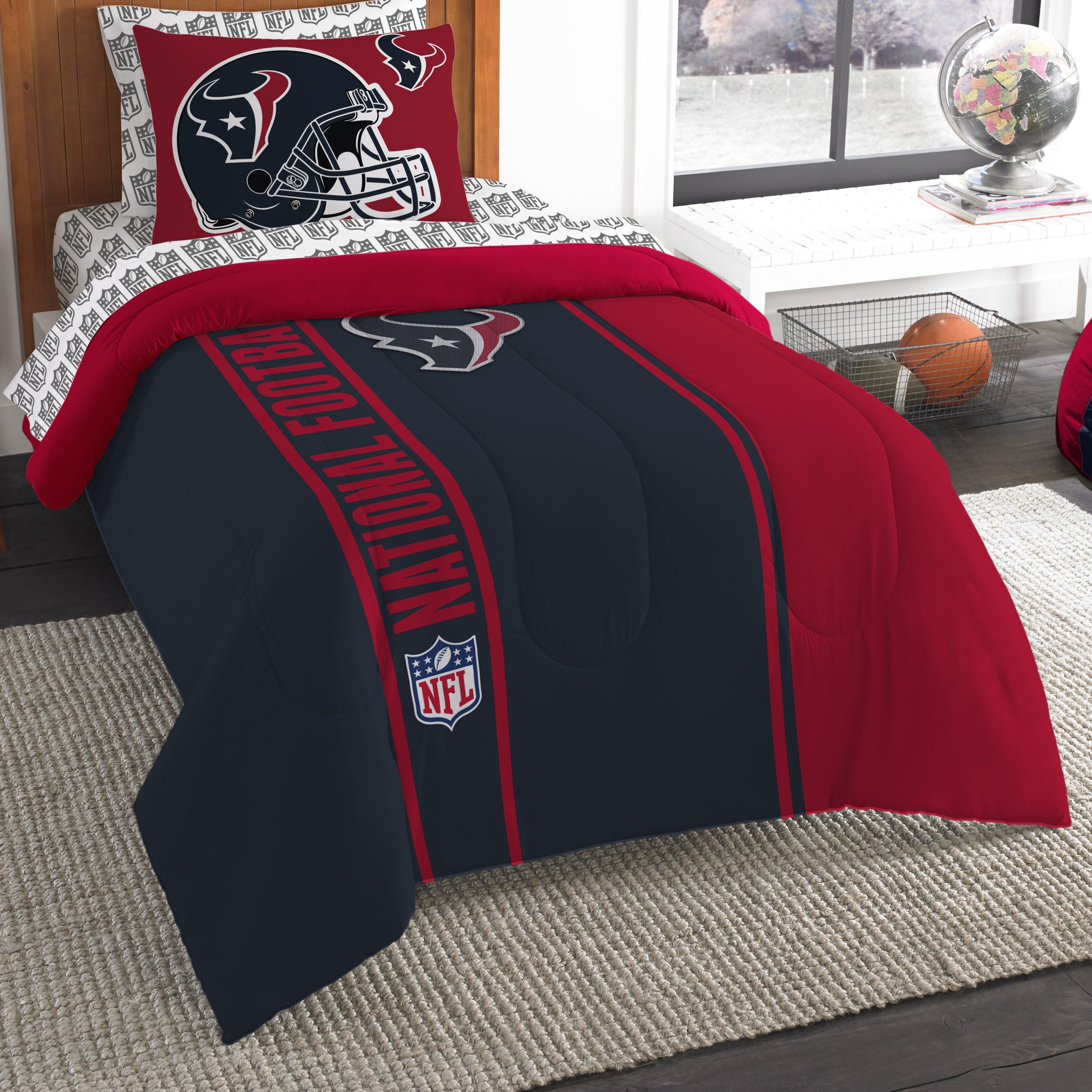 Texans Twin Bedding Set