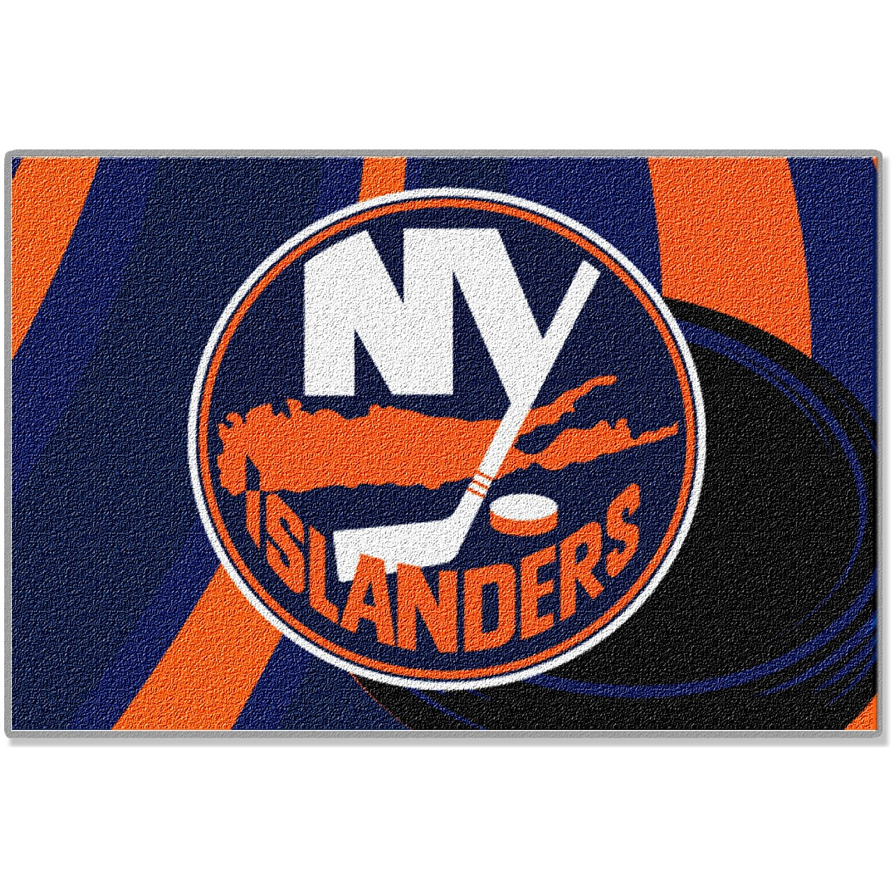 Northwest co nhl new york islanders area rug reviews for Area rugs new york