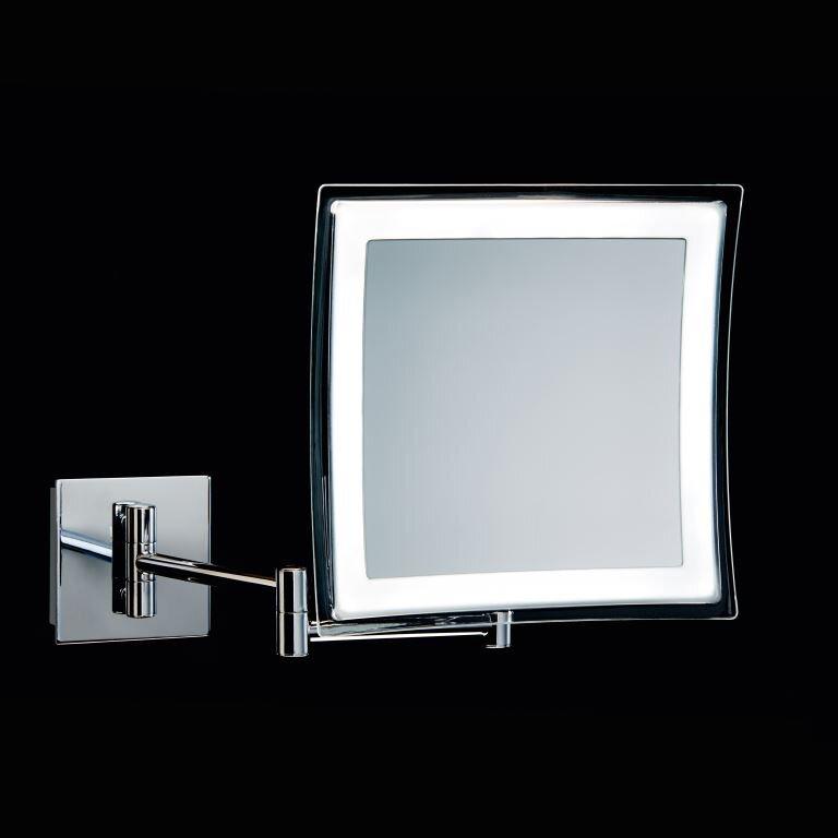 ... Collections Spiegel Hard Wired Makeup Mirror u0026 Reviews : Wayfair.ca