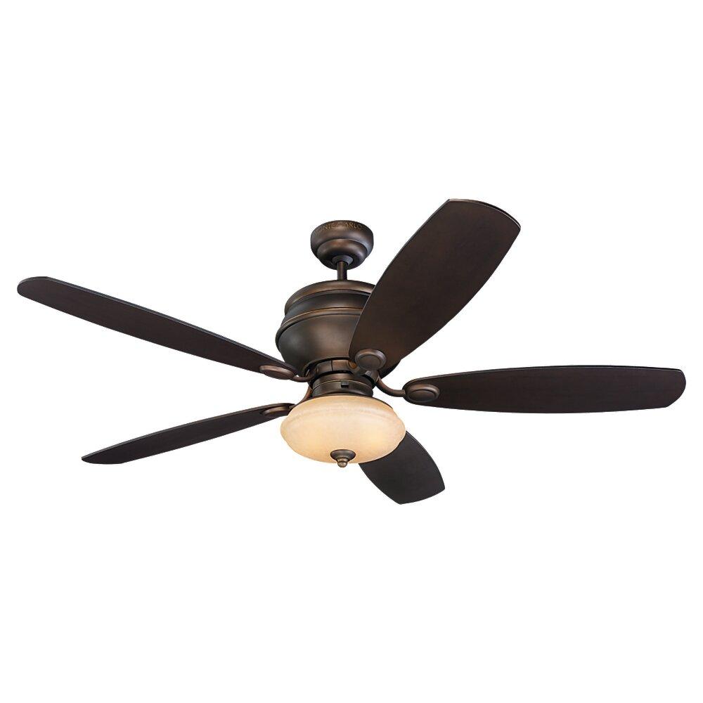 Monte Carlo Fan Company 52 Weatherstar 5 Blade Ceiling