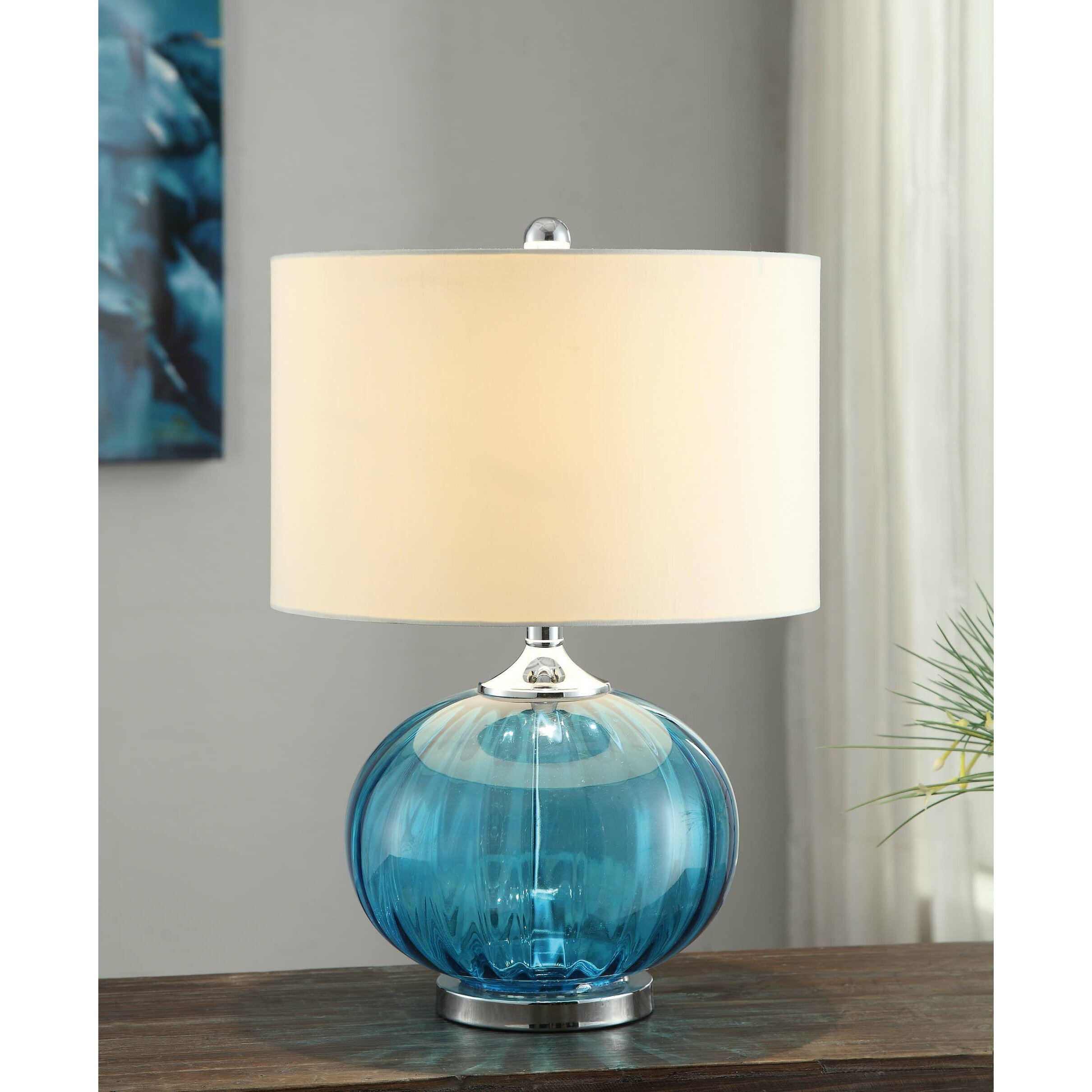 "Sea Lamps: Crestview Sea Side New Port 22"" Table Lamp & Reviews"