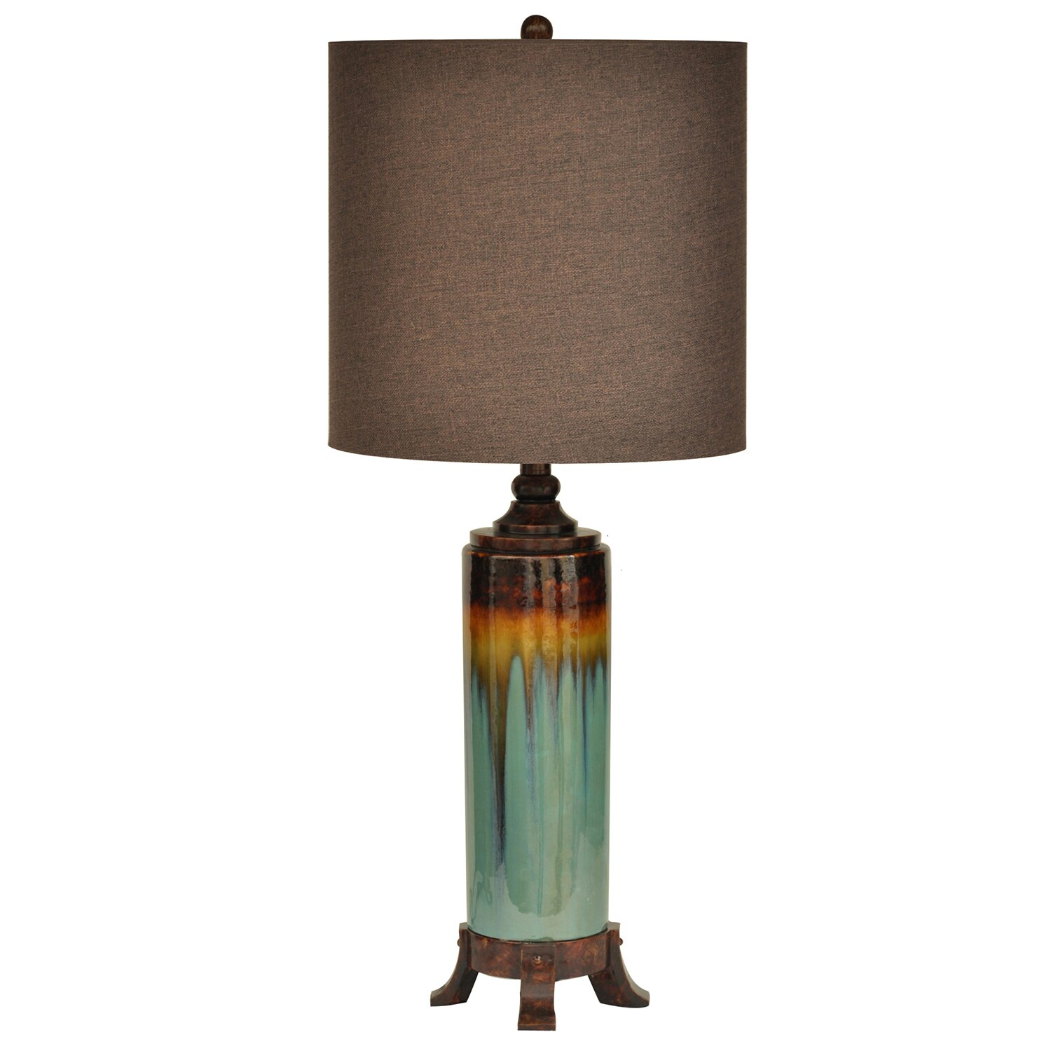 "Country Lamps Lighting: Crestview Wine Country 32.5"" Table Lamp & Reviews"