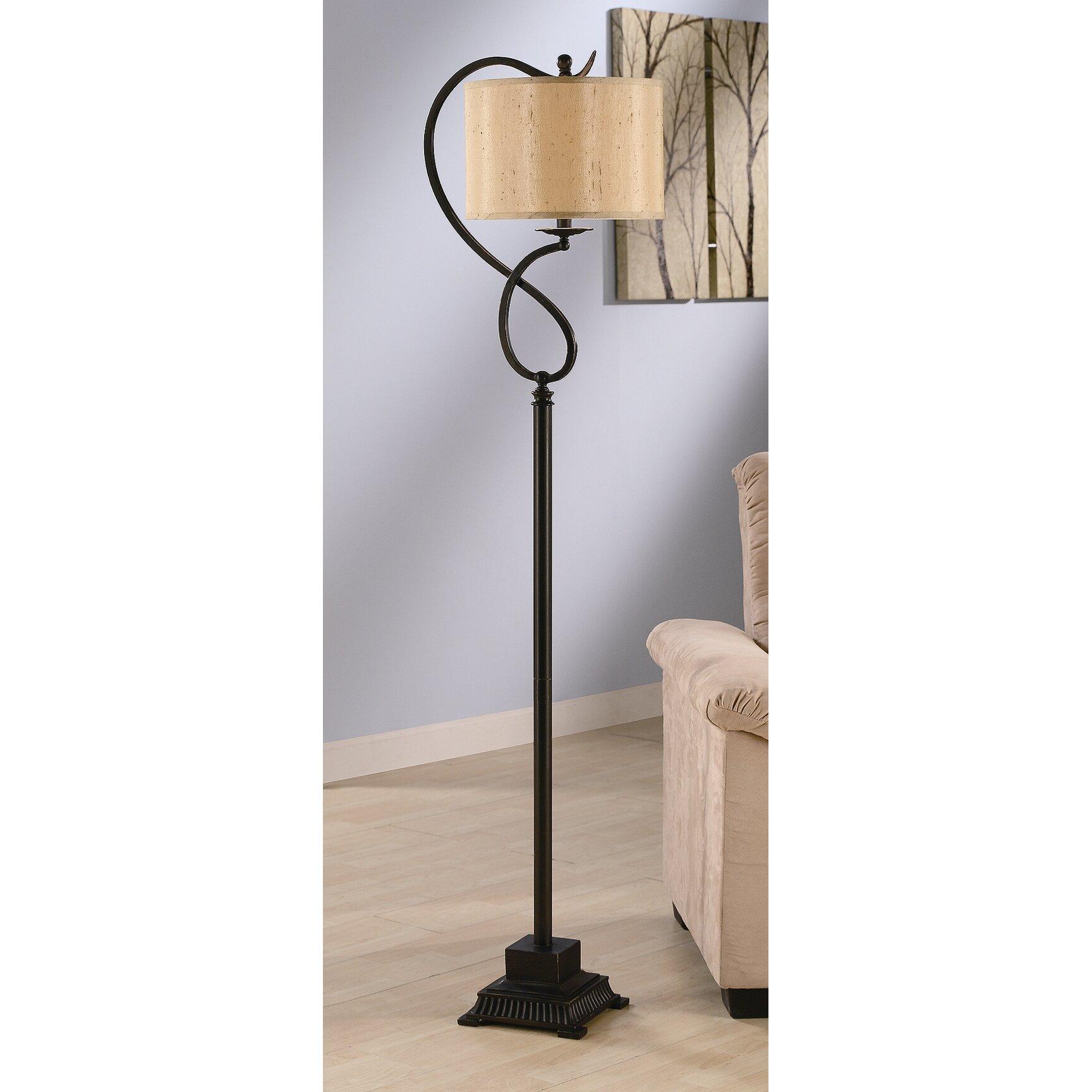 Crestview Echo 61 Quot Floor Lamp Amp Reviews Wayfair