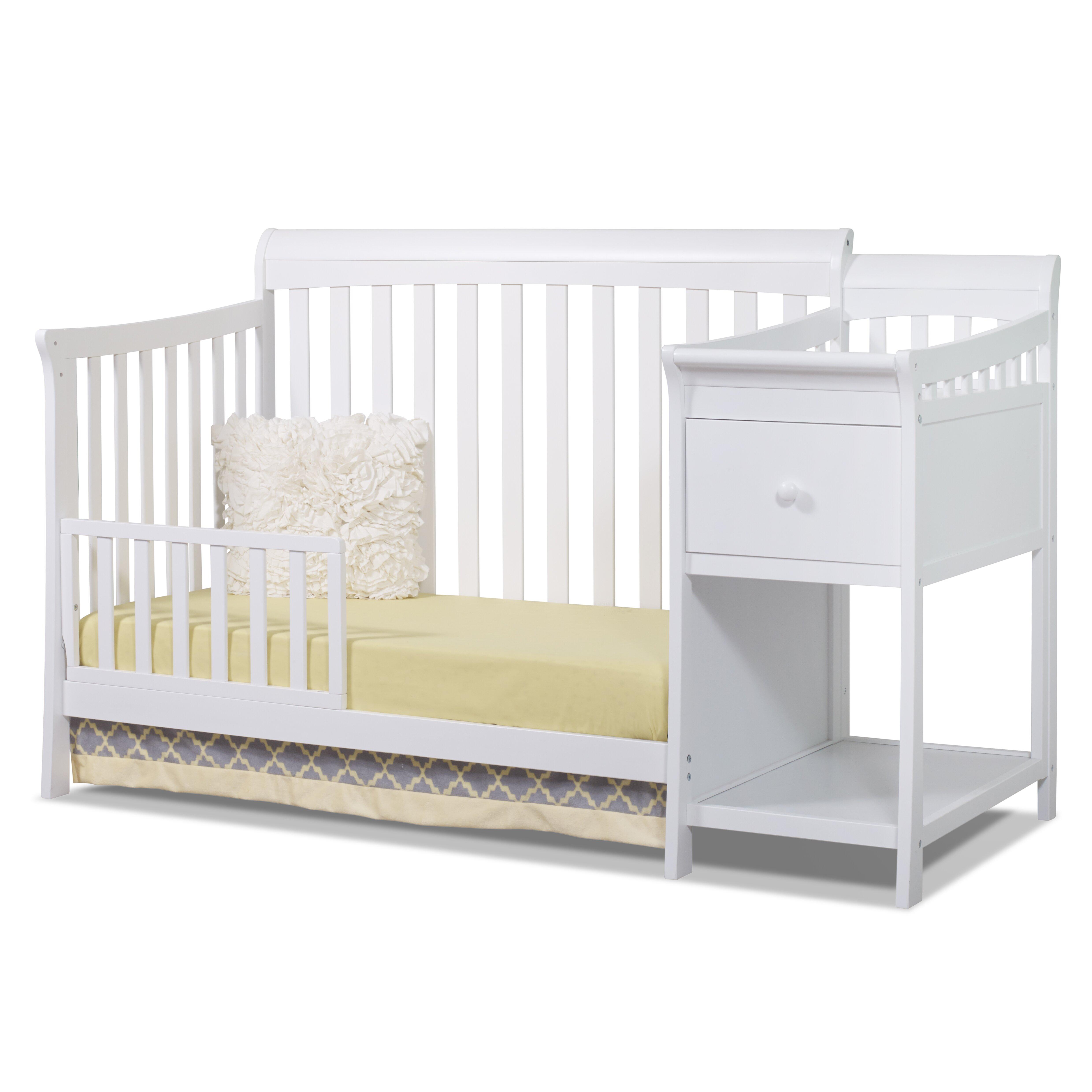 Sorelle Florence 4 In 1 Convertible Crib Wayfair
