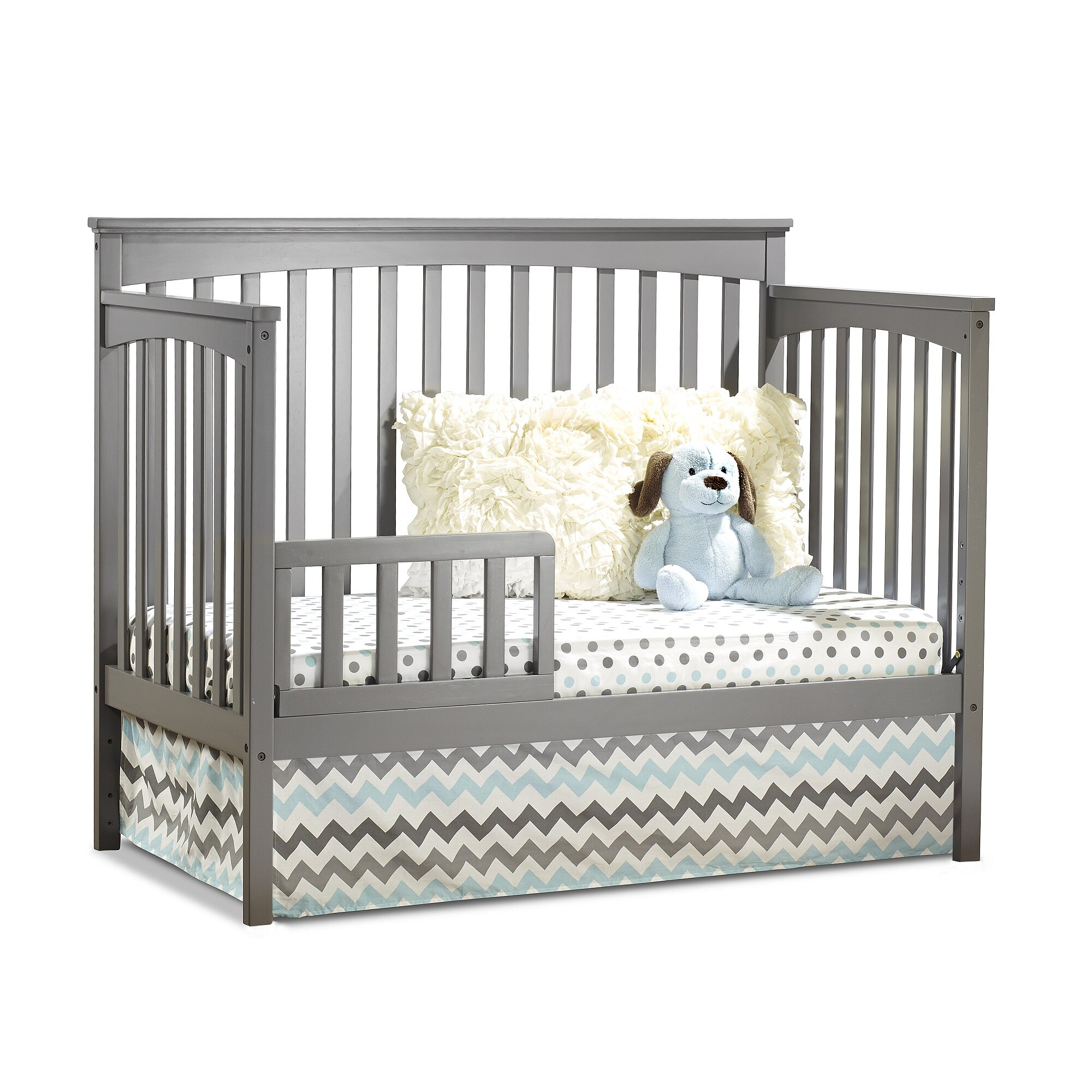 sorelle petite paradise 4 in 1 elite room in a box 5 piece convertible crib set reviews wayfair. Black Bedroom Furniture Sets. Home Design Ideas