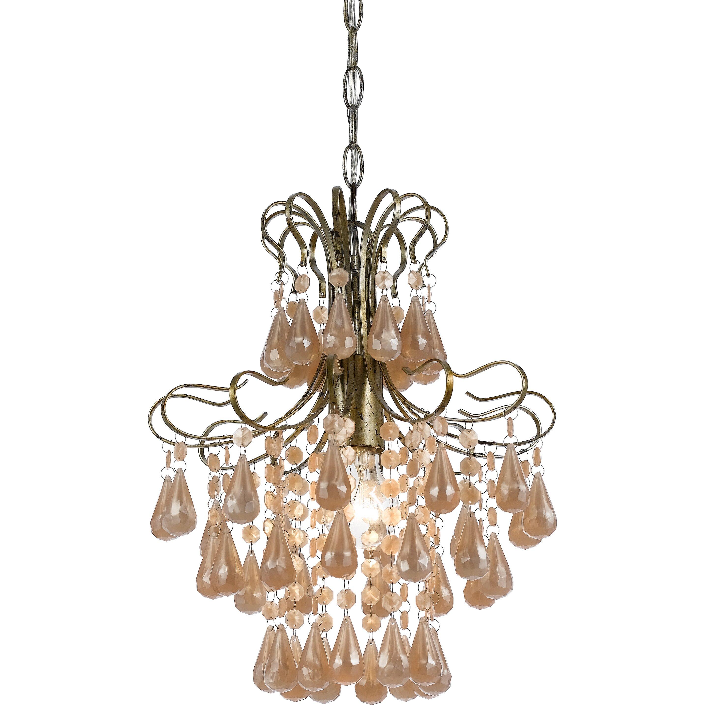 AF Lighting Tiffany 1 Light Mini Chandelier Reviews Wayfair