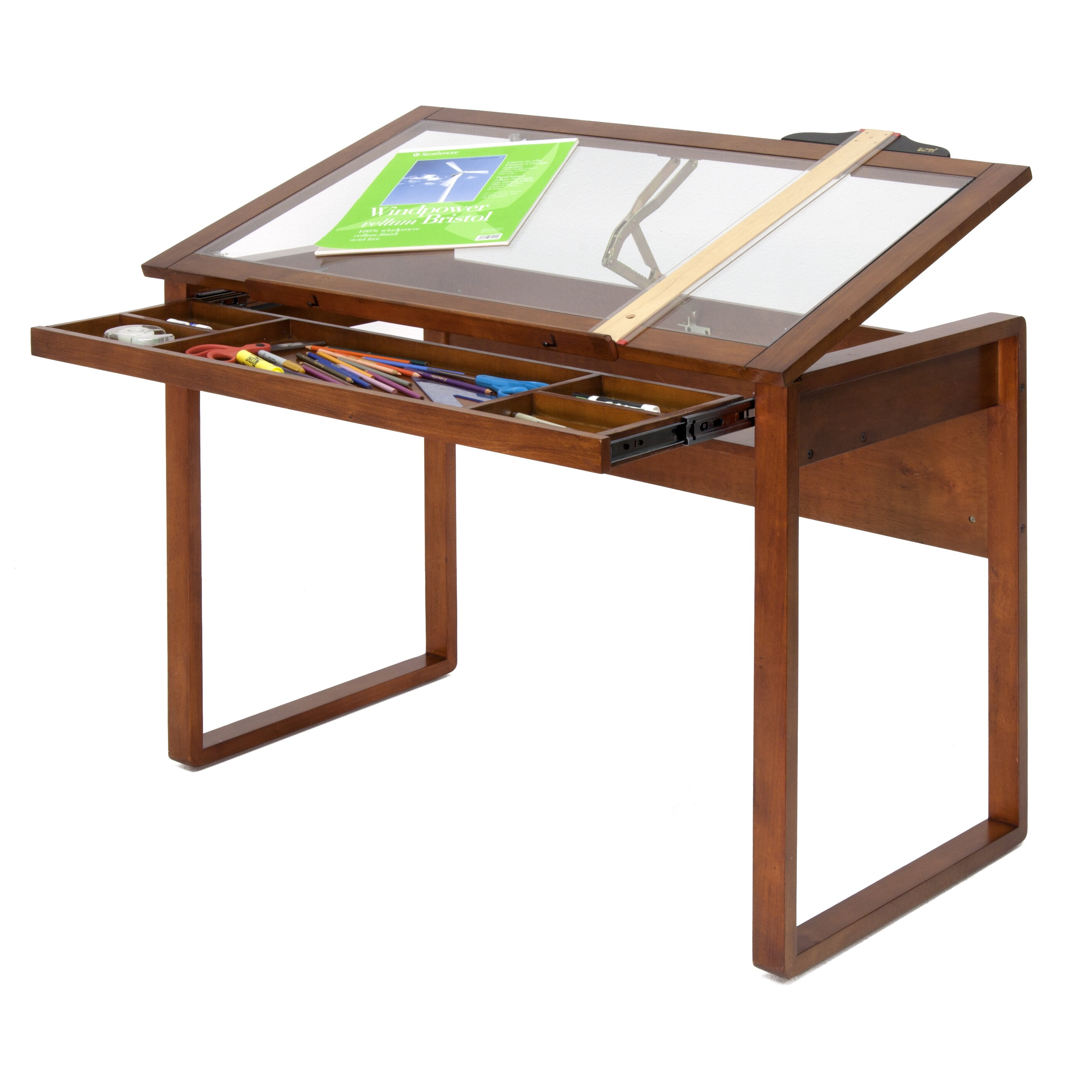 Studio designs ponderosa 42 w x 24 d drafting table reviews wayfair - Drafting table designs ...