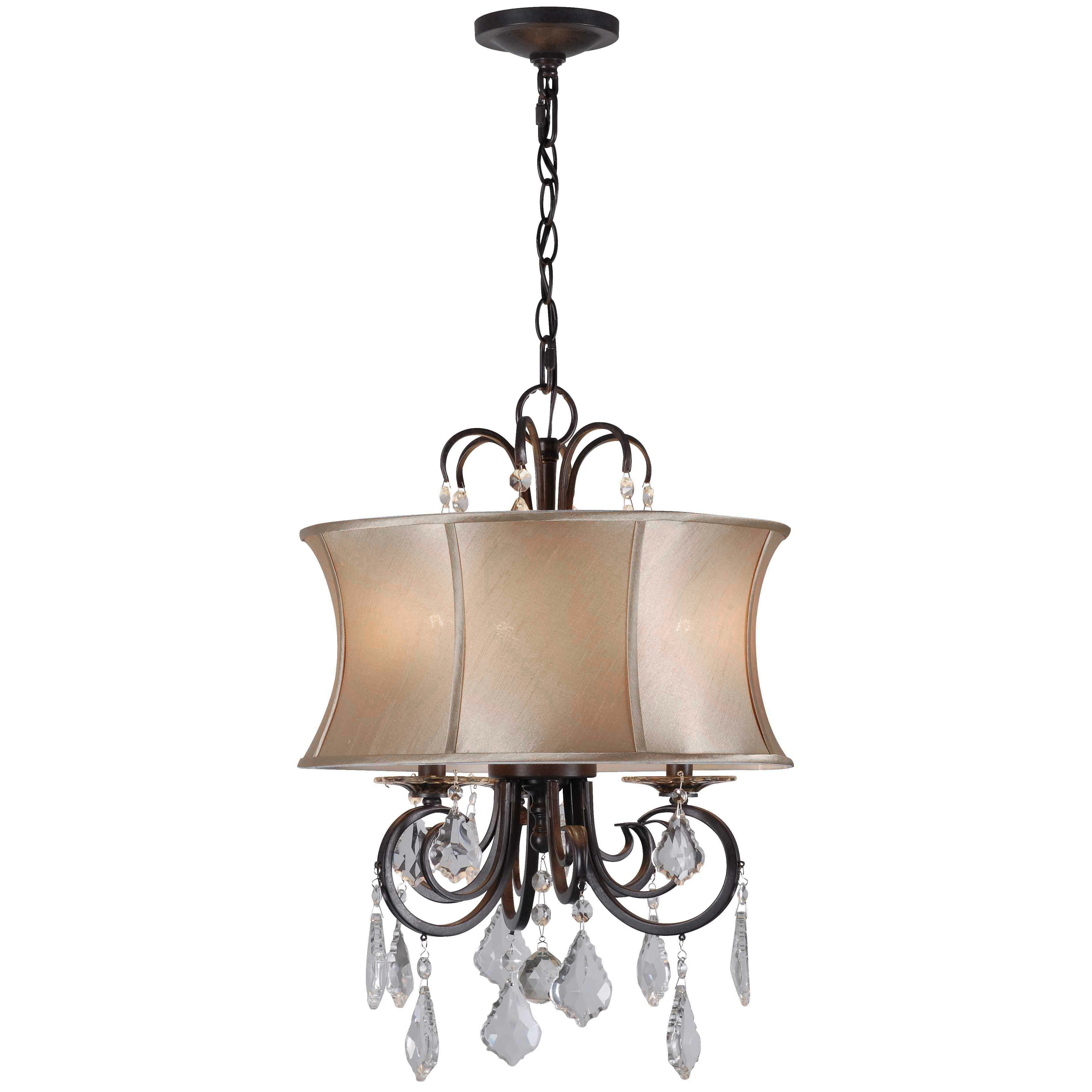 world imports annelise 3 light drum chandelier chandeliers pendants wayfair drum lighting