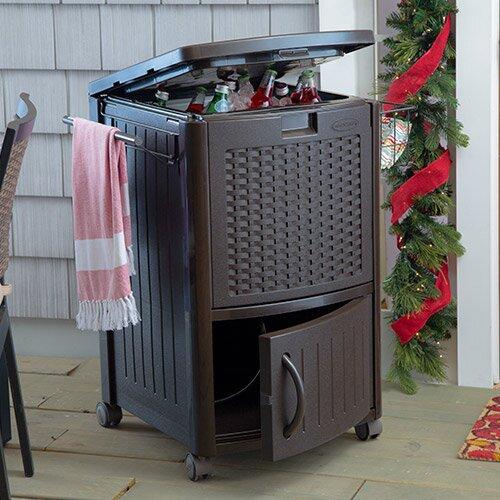 Suncast 19 25 Gallon Deck Cooler Amp Reviews Wayfair