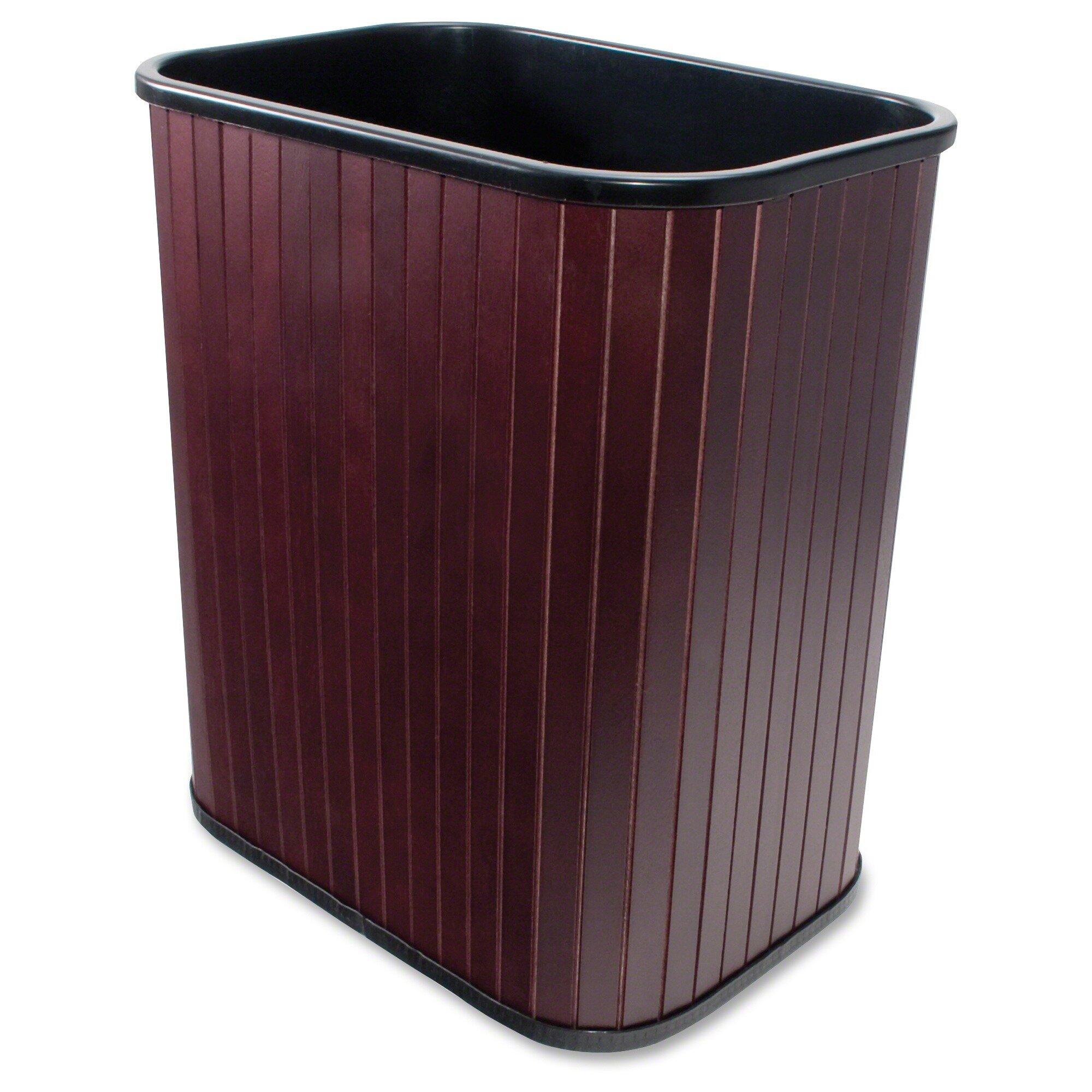 Carver rectangular trash can reviews wayfair - Rectangular garbage cans ...