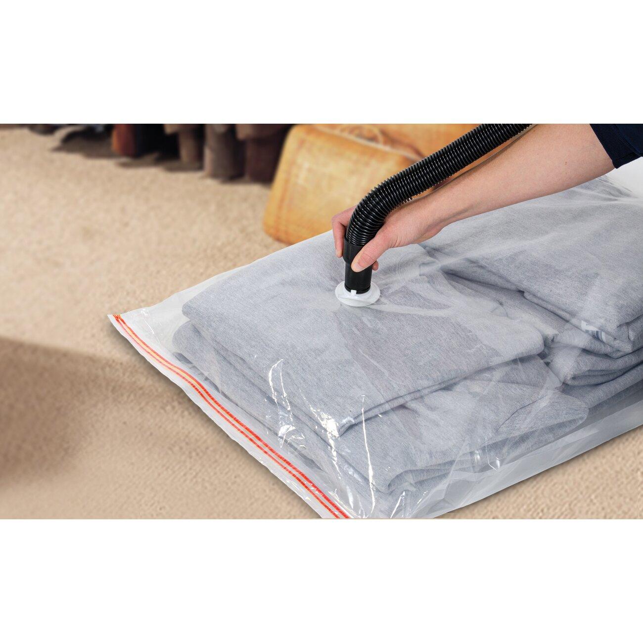 Hefty Shrink Pak Vacuum Storage Bag Reviews Wayfair  sc 1 st  Listitdallas & Storage Solutions Vacuum Bags - Listitdallas