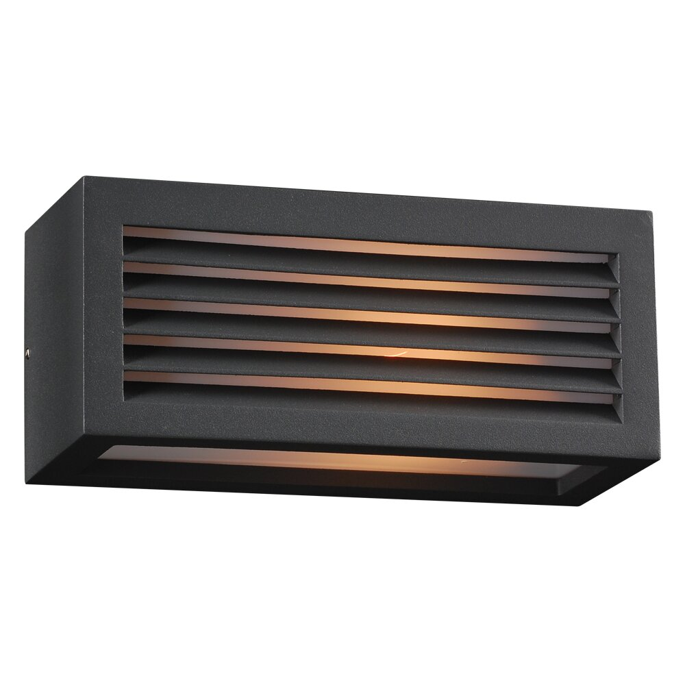 Wayfair External Wall Lights : PLC Lighting Madrid 1 Light Outdoor Flush Mount & Reviews Wayfair