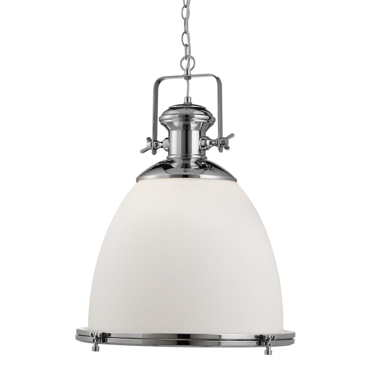 Industrial Mini Pendant Light: Searchlight Industrial Pendants 1 Light Mini Pendant