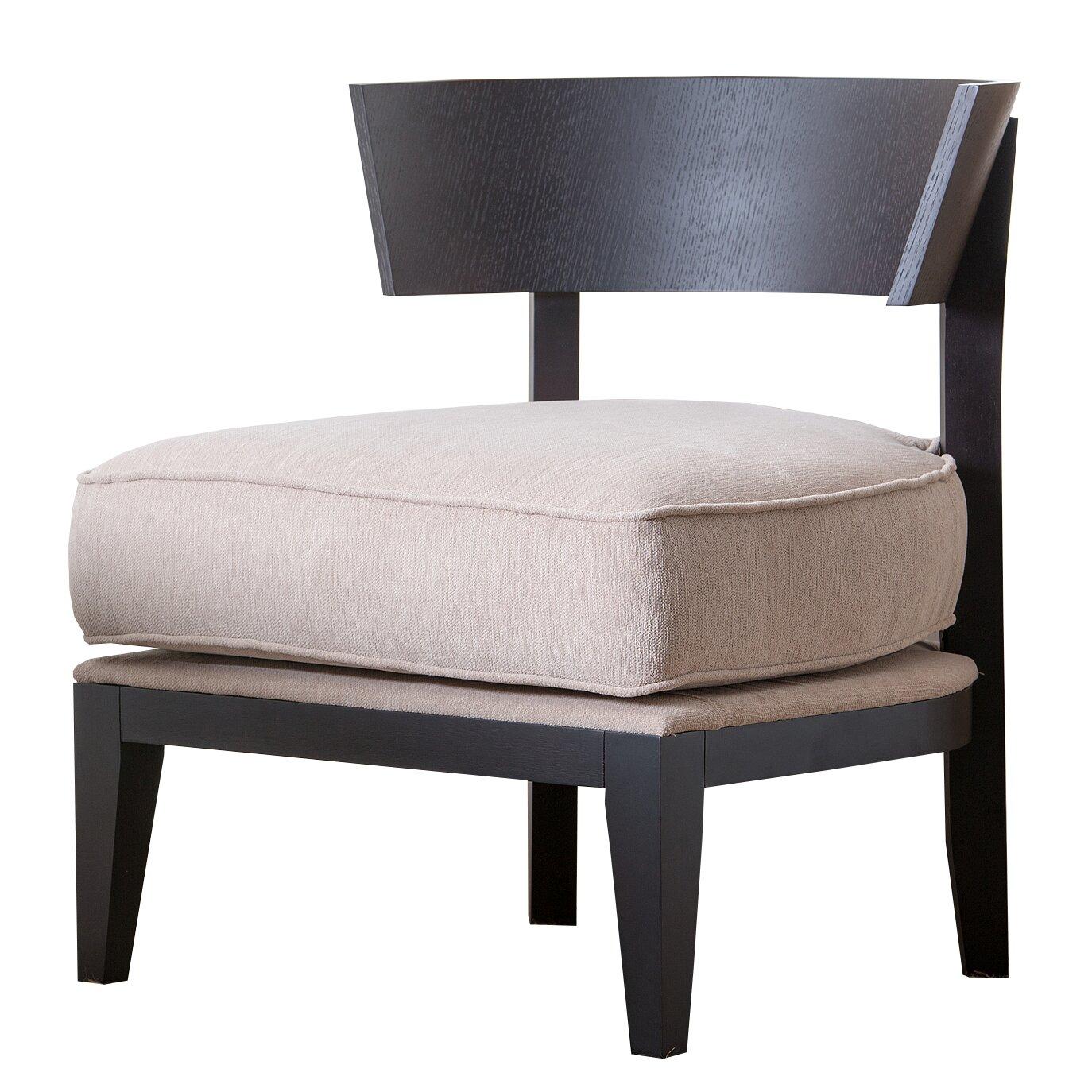 Abbyson Living Fairfax Fabric Slipper Chair Reviews Wayfair